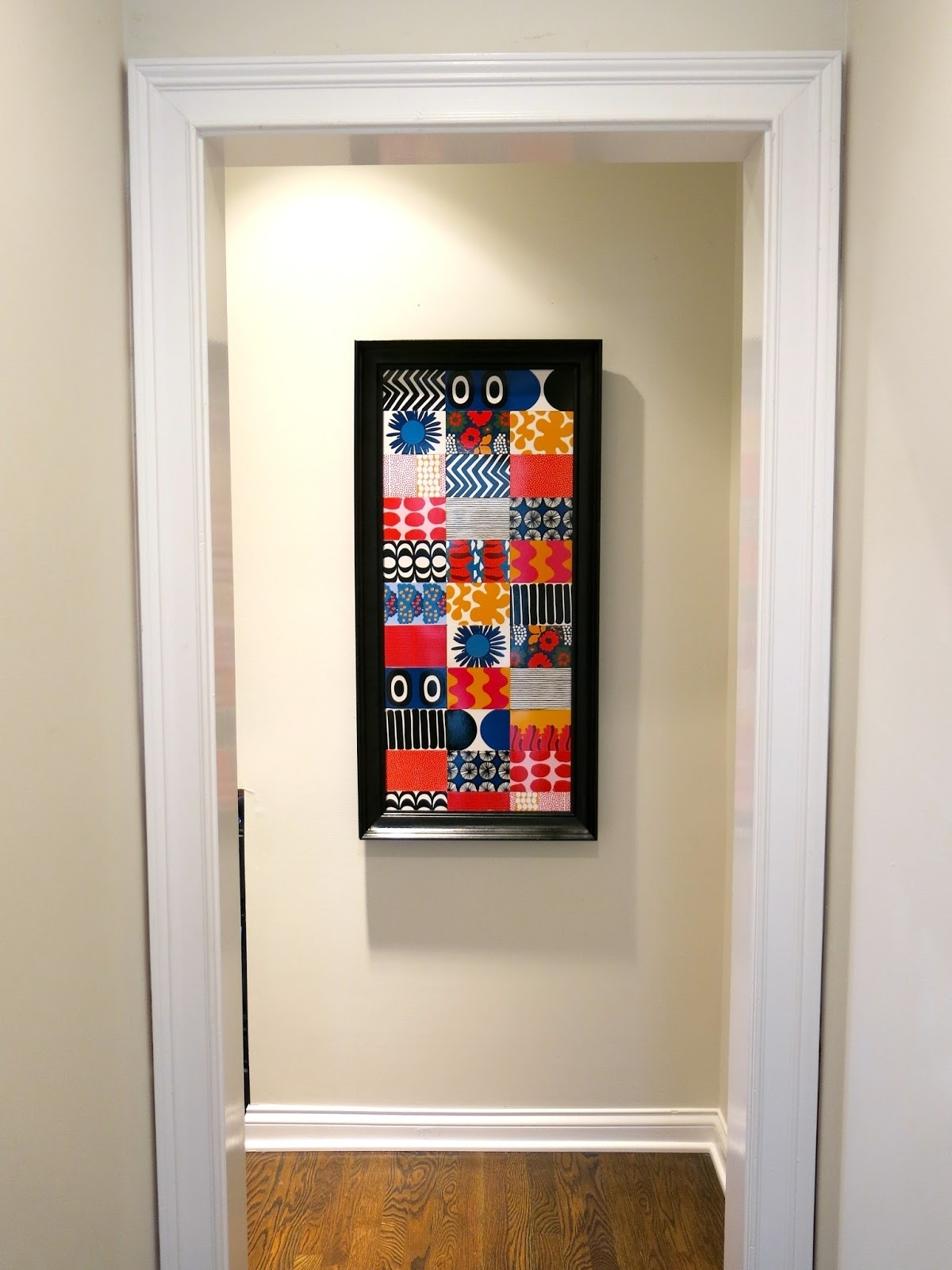 Cassie Stephens: Diy: Marimekko Memory Game Wallhanging Inside Most Popular Marimekko 'kevatjuhla' Fabric Wall Art (Gallery 8 of 15)