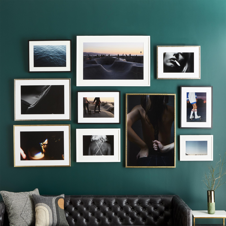 Cb2 And Framebridge Partner For Collection Of Custom Framed Art Regarding Popular Black Framed Art Prints (View 7 of 15)