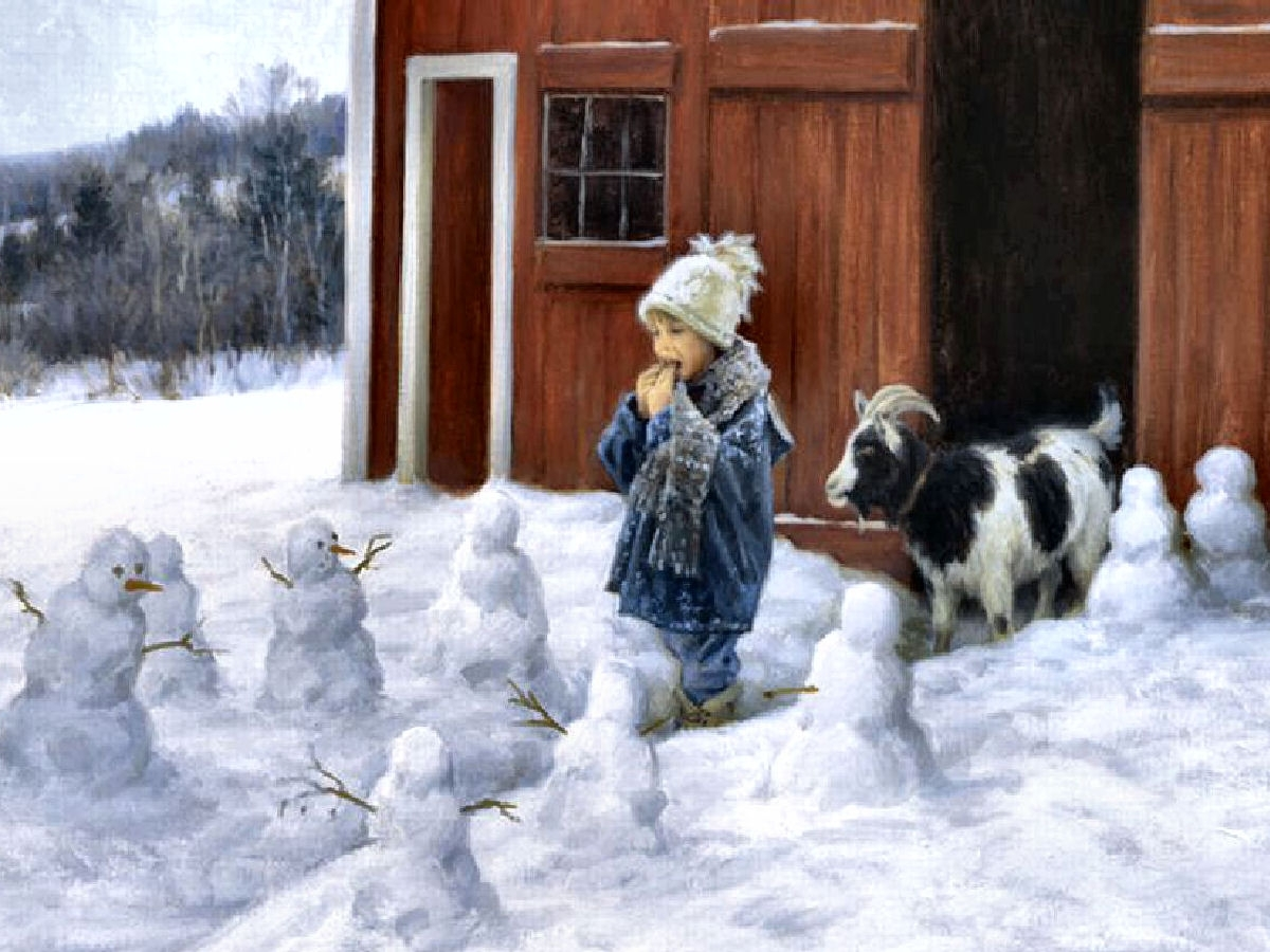 Charming Children❤Bless The Beasts With Popular Robert Duncan Framed Art Prints (Gallery 8 of 15)