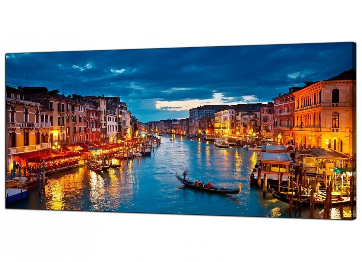 Cheap Canvas Prints Of Venice Italy For Your Living Room Throughout 2017 Canvas Wall Art Of Italy (View 8 of 15)