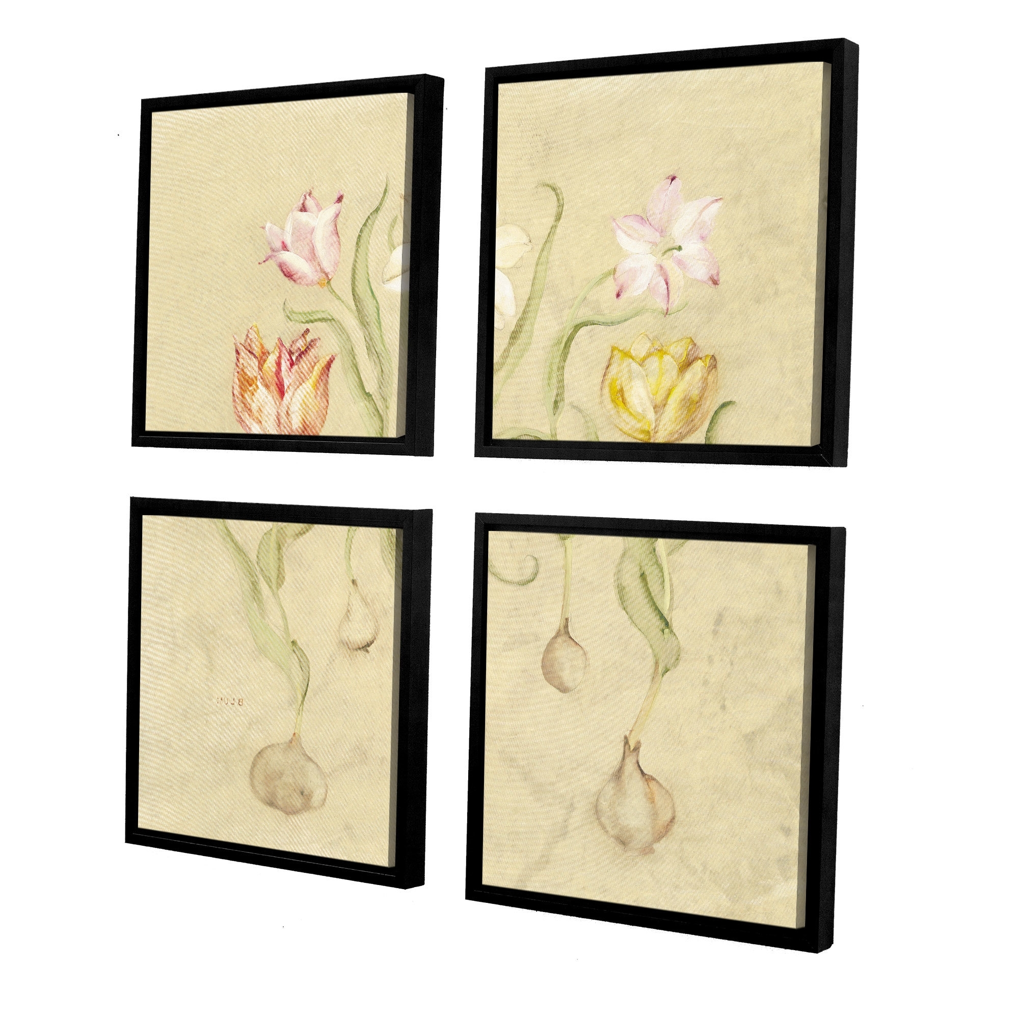Cheri Blum Framed Art Prints Pertaining To Recent Artwall 'dancing Bulbs I'cheri Blum 4 Piece Framed (View 7 of 15)