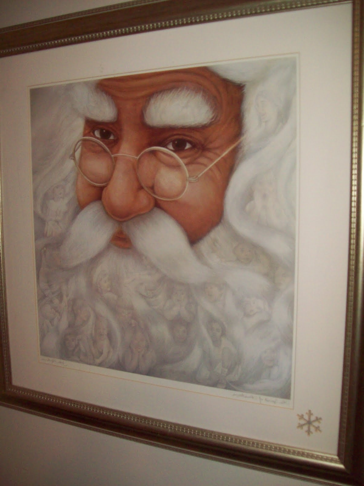 Christmas Framed Art Prints Pertaining To Fashionable Zanymayd: Gift From The Heart (Gallery 15 of 15)