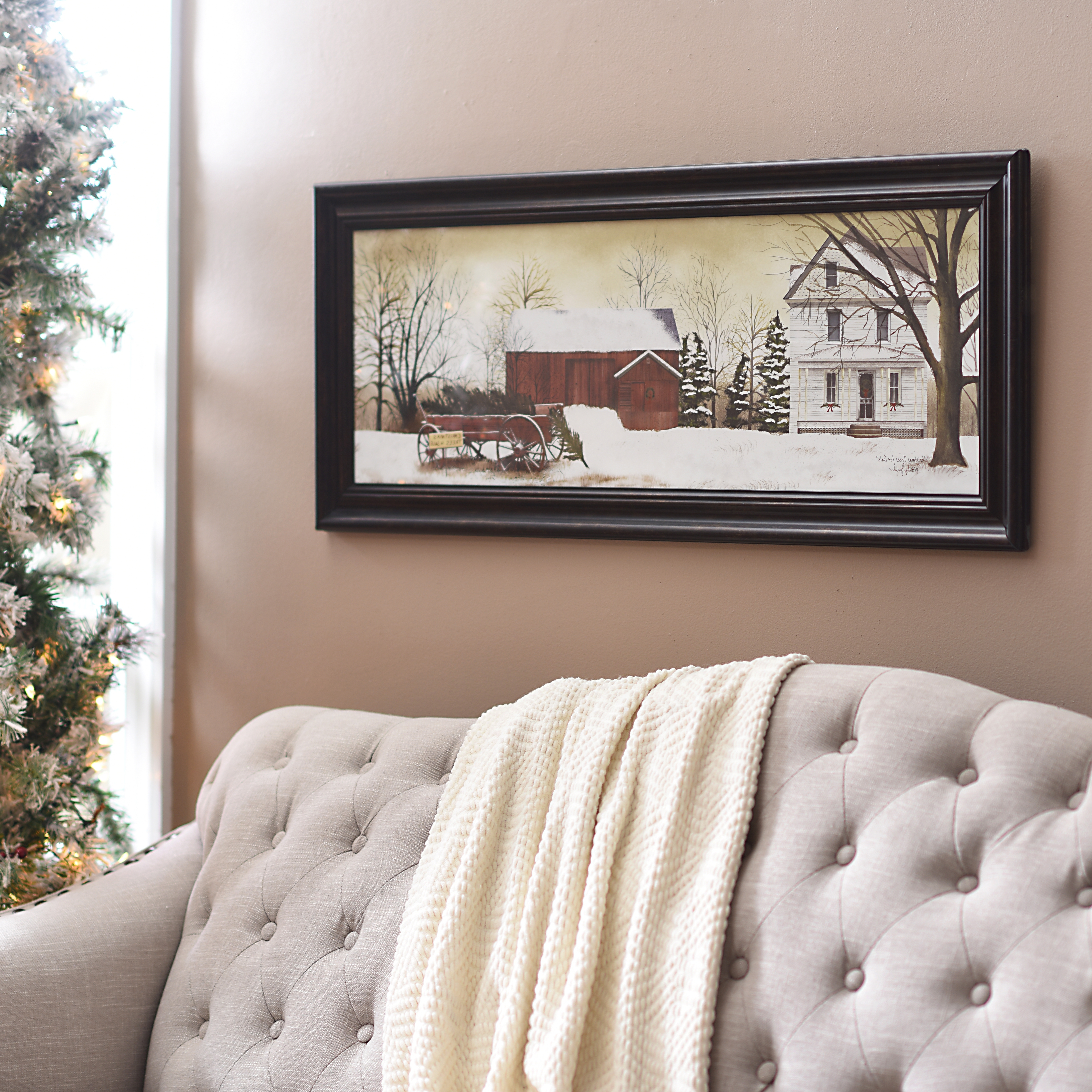 Christmas Framed Art Prints With Regard To 2017 Into Early Christmas Decorations (Gallery 14 of 15)