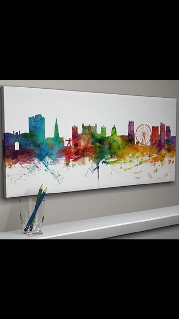 Cities, Canvas Art (View 2 of 15)