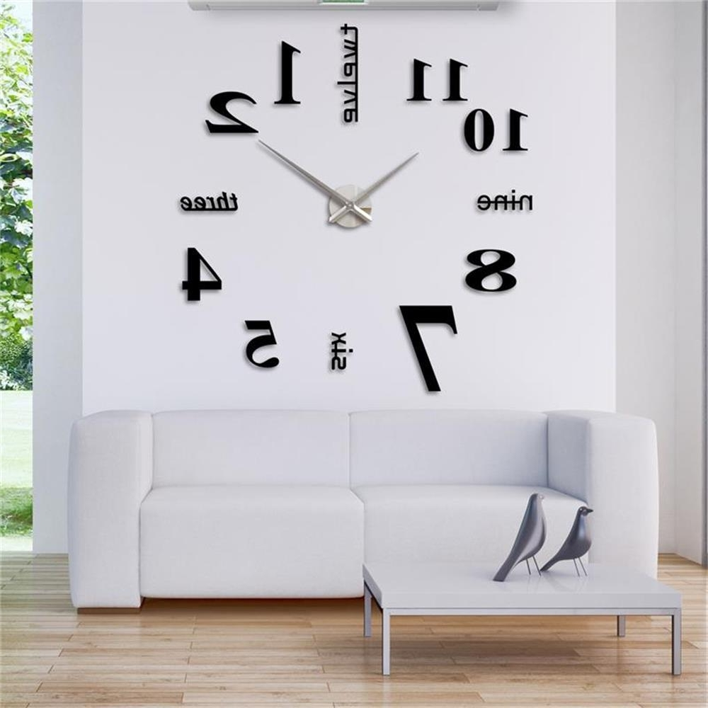 Clock Wall Accents Inside Favorite Perfect Design Clock Wall Decor Clocks Large 36 Inch – Wall Art Ideas (View 1 of 15)