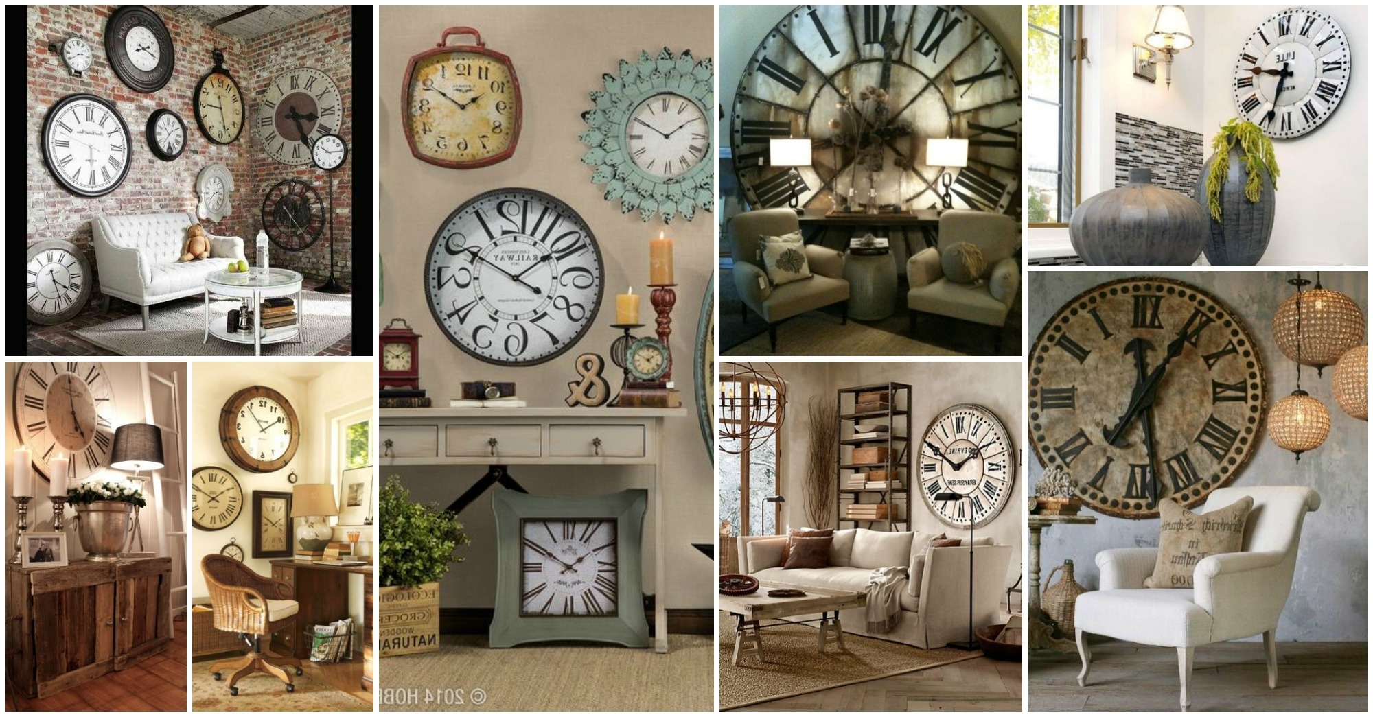 Clock Wall Accents Throughout Fashionable Perfect Ideas Wall Clock Decor Best 25 On Pinterest Big Clocks (View 3 of 15)
