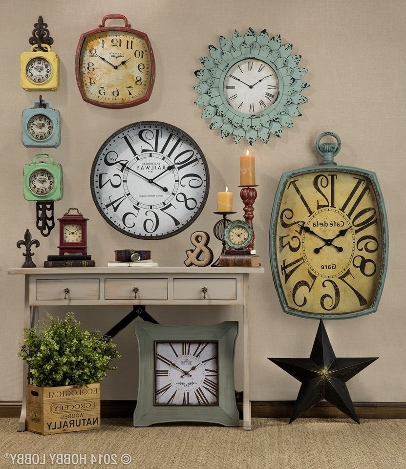 Clock Wall  Love To Do This And Set Clocks To Different Countries For Well Known Clock Wall Accents (View 6 of 15)