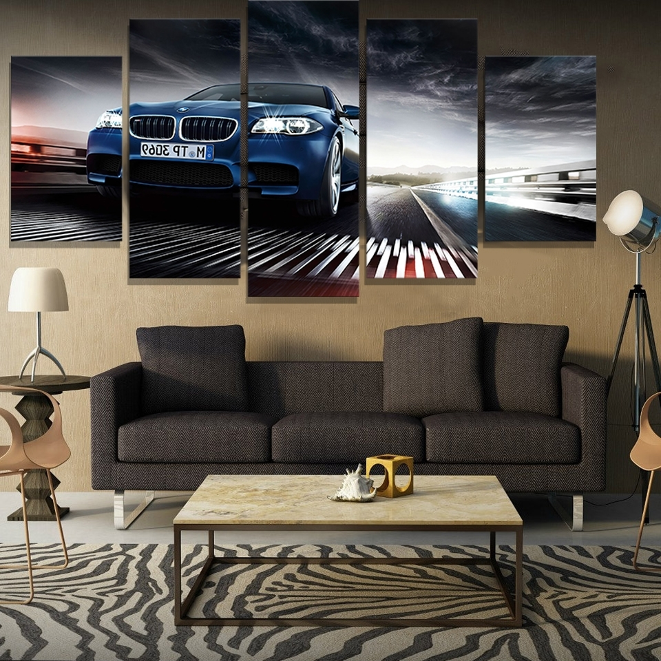 Compare Prices On Bmw Picturs Online Shopping/buy Low Price Bmw Throughout Most Current Bmw Canvas Wall Art (View 6 of 15)