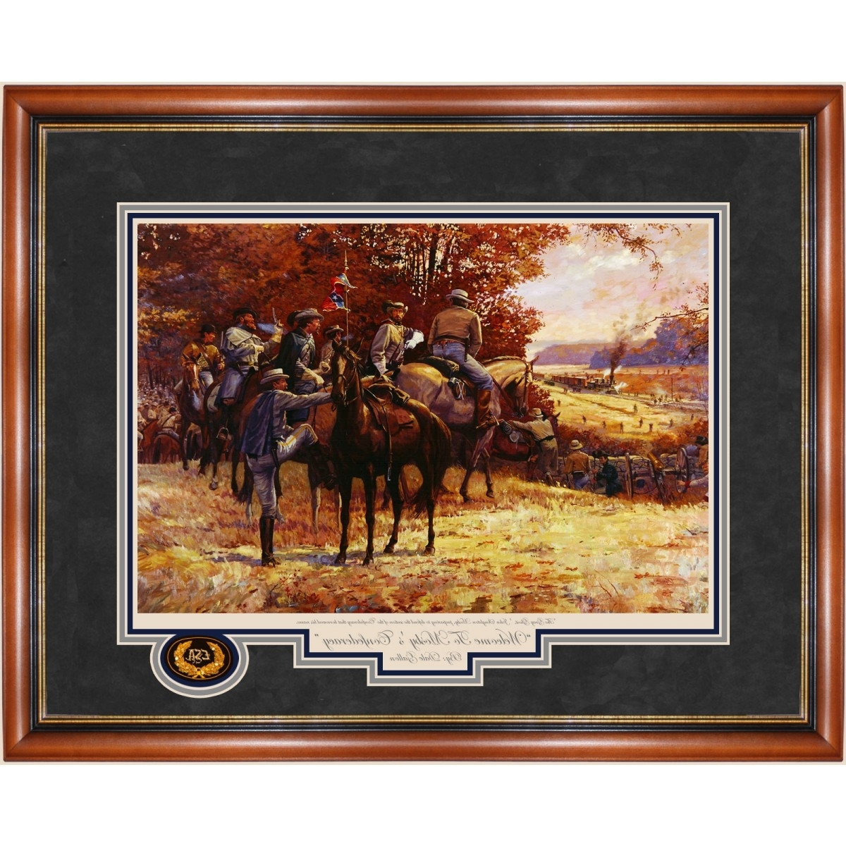 Confederate Framed Art Prints With Trendy Mosby's Confederacy  Welcome To Print – Prints – Art Reproductions (View 3 of 15)