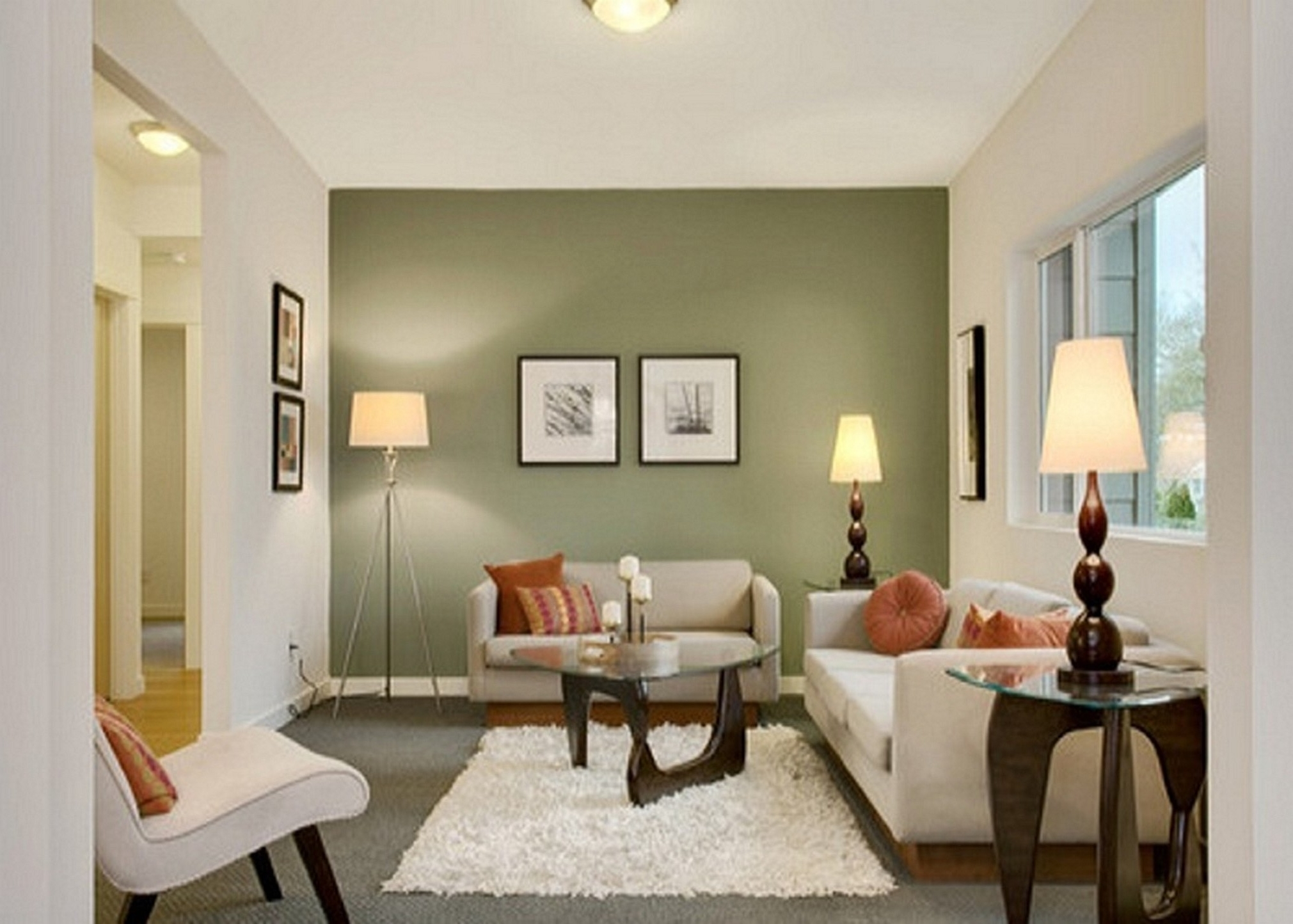 Contrast Wall Colors – Design Decoration Inside Popular Wall Accents For Beige Room (View 6 of 15)