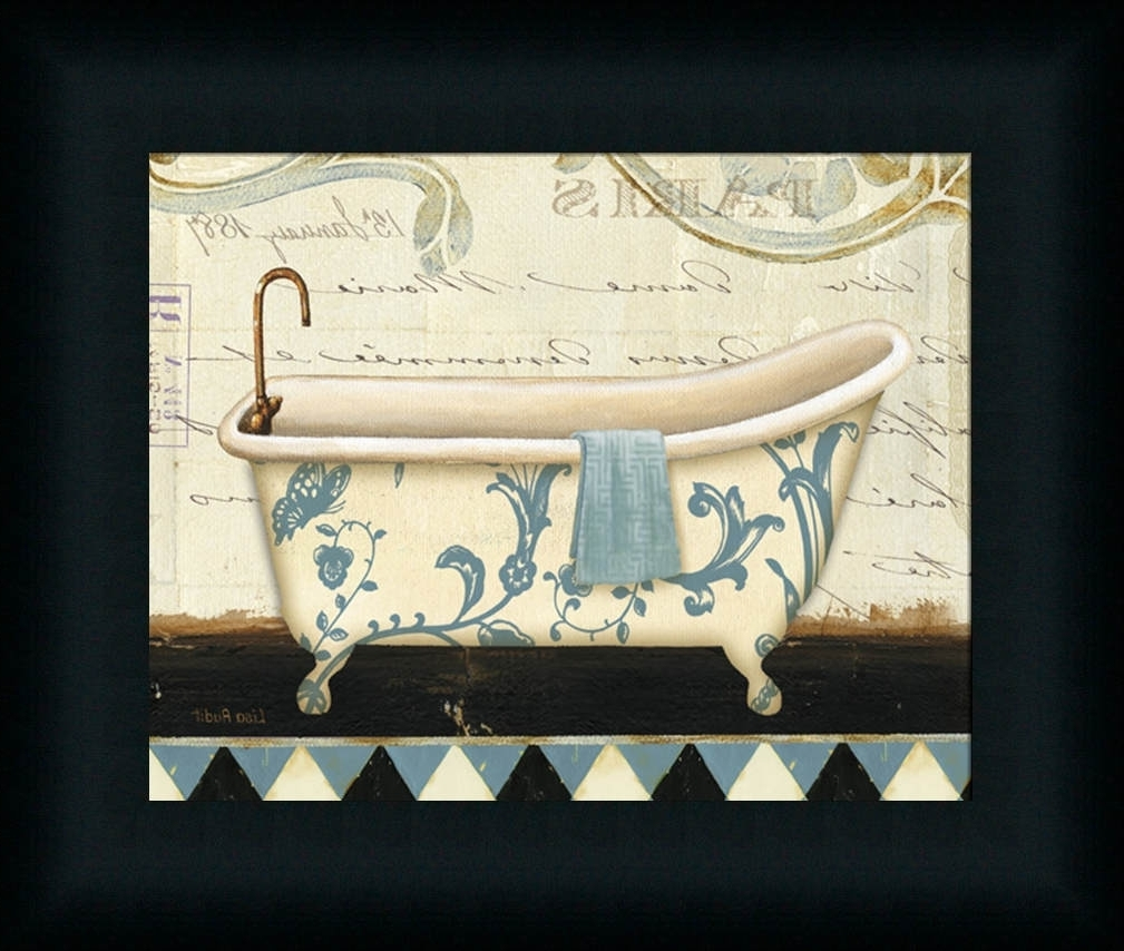 Creative Bathroom Decoration With Framed Art Prints For Bathroom (View 4 of 15)
