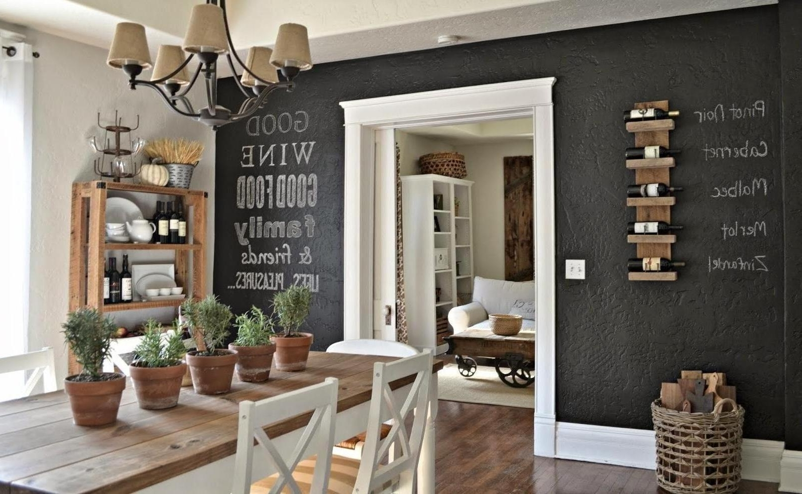 Creative Dining Room Wall Decor – Dining Room Wall Decor Concept Within Recent Dining Room Wall Accents (Gallery 2 of 15)