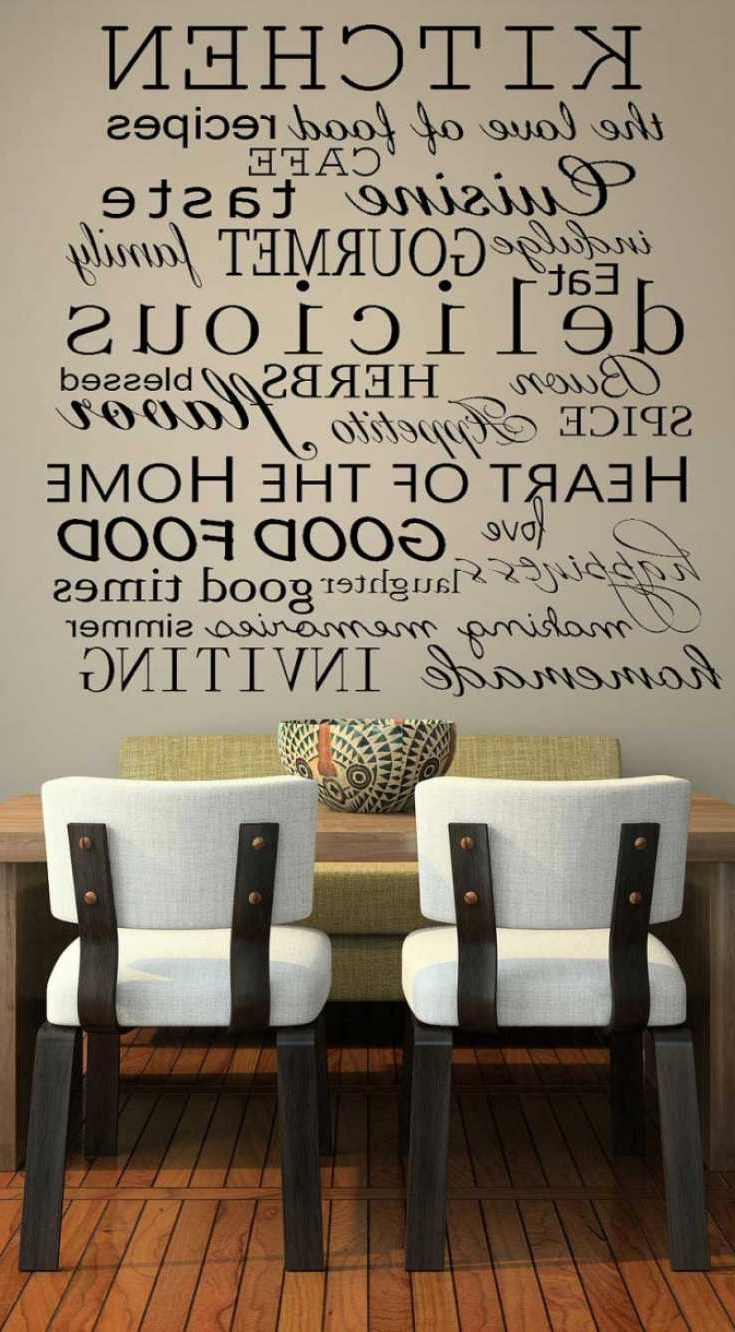 Current 22 Ideas Of Kitchenwalldecor Tjihome (View 2 of 15)