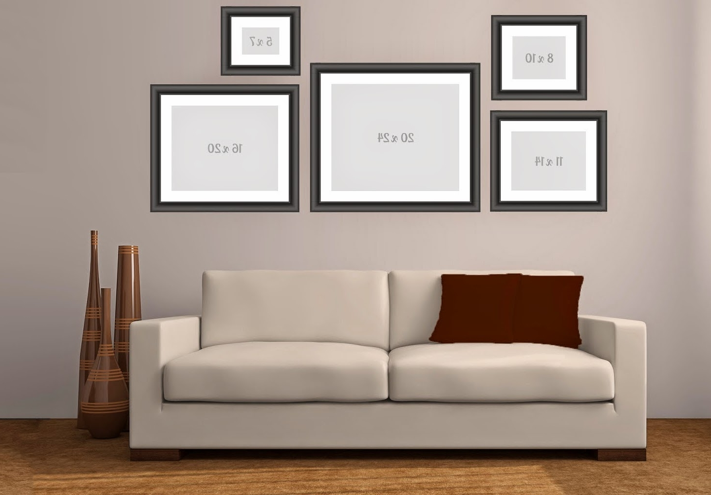 Current Groupings Canvas Wall Art With Regard To Wall Art – Making A Canvas Or Print Grouping (View 5 of 15)