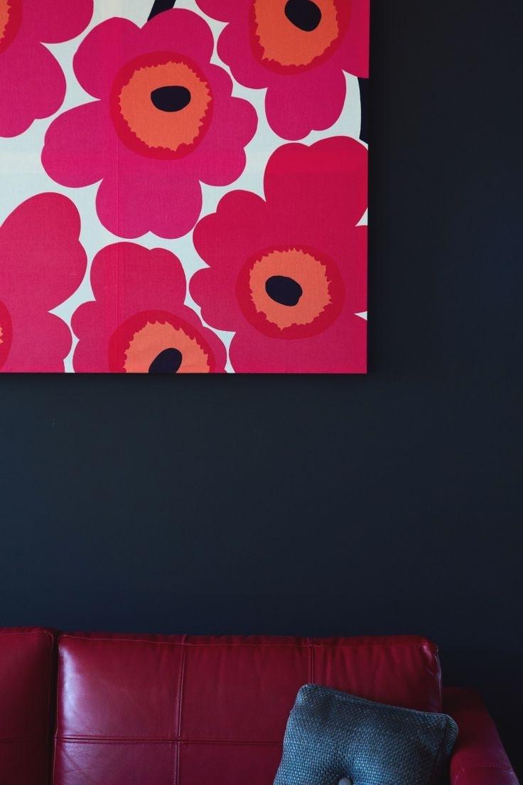Current Marimekko 'karkuteilla' Fabric Wall Art For 106 Best Marimekko Fabric + Wallpaper Images On Pinterest (Gallery 10 of 15)