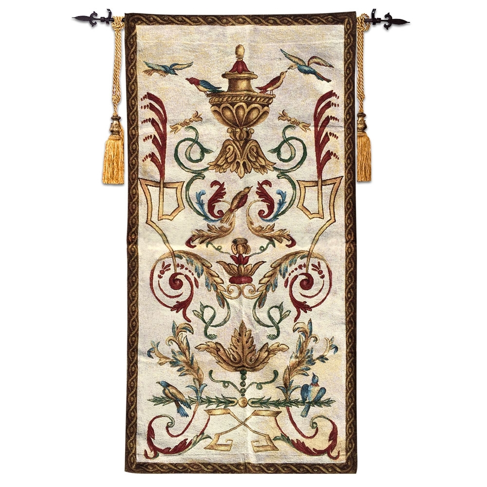 Current Moroccan Fabric Wall Art With 60x120cm Wall Tapestry Belgium Wall Hanging Tapestry Fabric (View 8 of 15)
