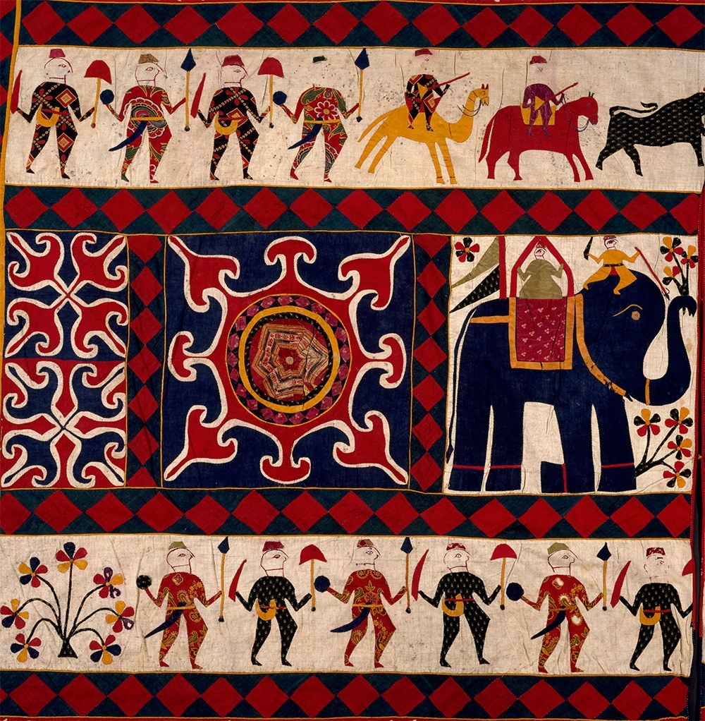 Current The Fabric Of India Exhibition At The Victoria And Albert Museum In Indian Fabric Art Wall Hangings (View 2 of 15)