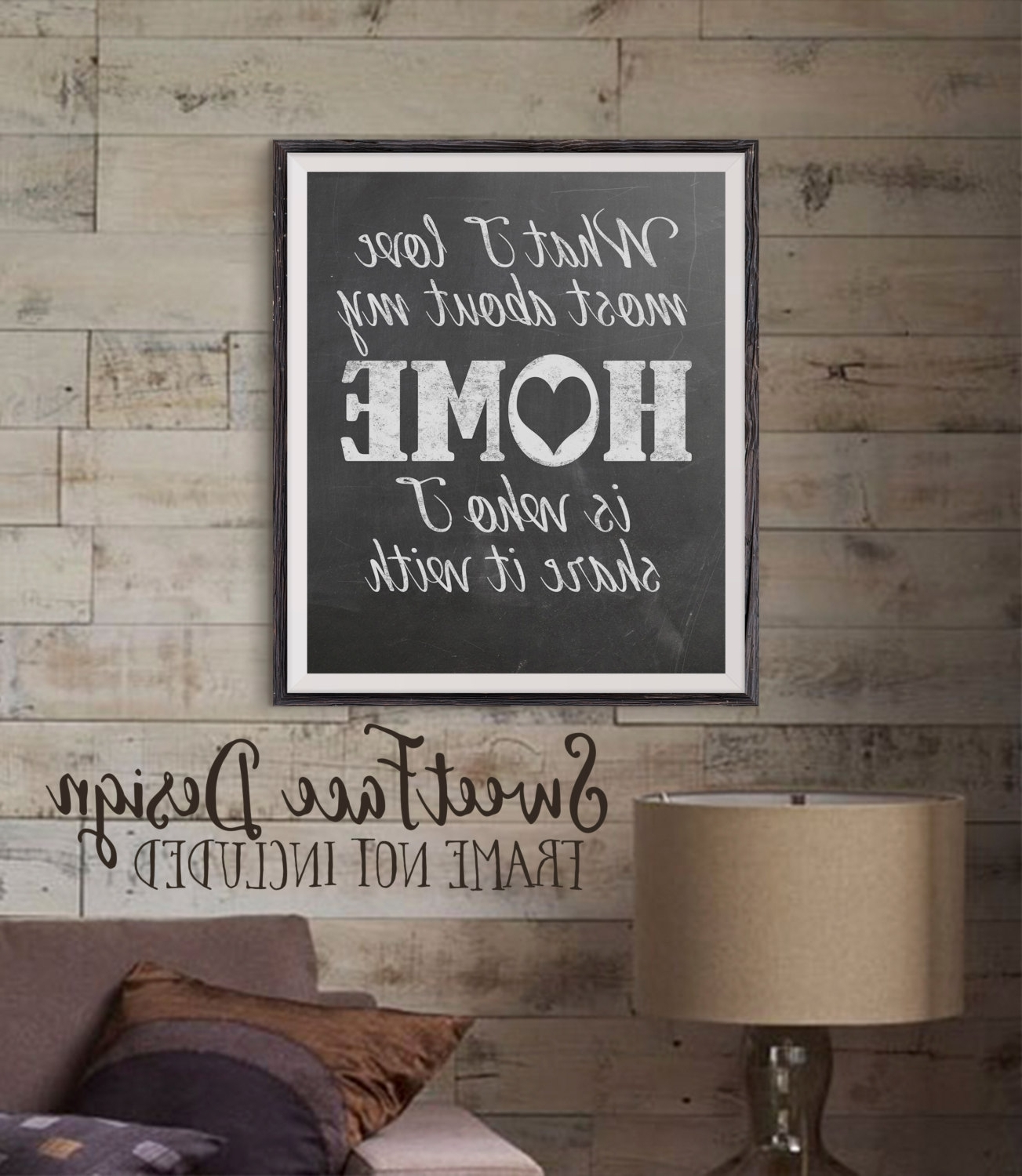 Current Wall Art Design Ideas: Popular Items Chalkboard Wall Art Square Throughout Fabric Square Wall Art (View 1 of 15)