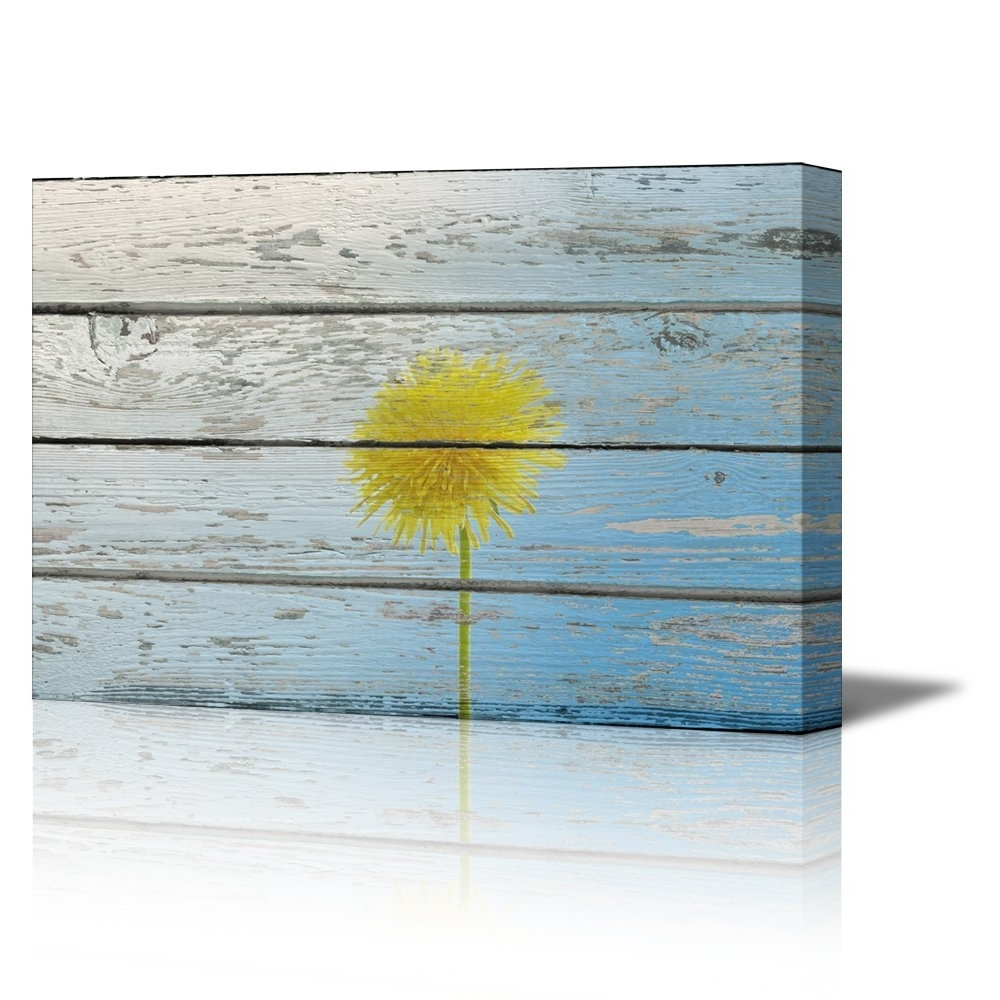 Dandelion Canvas Wall Art Within Most Popular Wall26 – Art Prints – Framed Art – Canvas Prints – Greeting (Gallery 12 of 15)