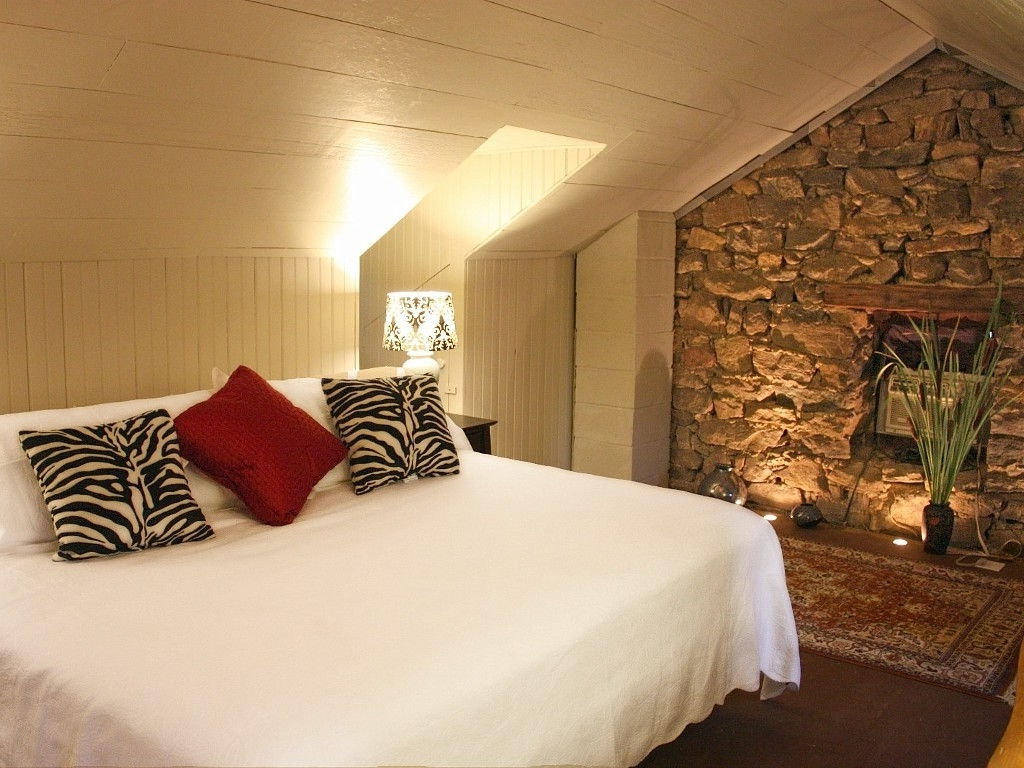 Decorations : Natural Stone Accents Wall For Attic Bedroom Intended For Recent Wall Accents For Bedroom (View 14 of 15)