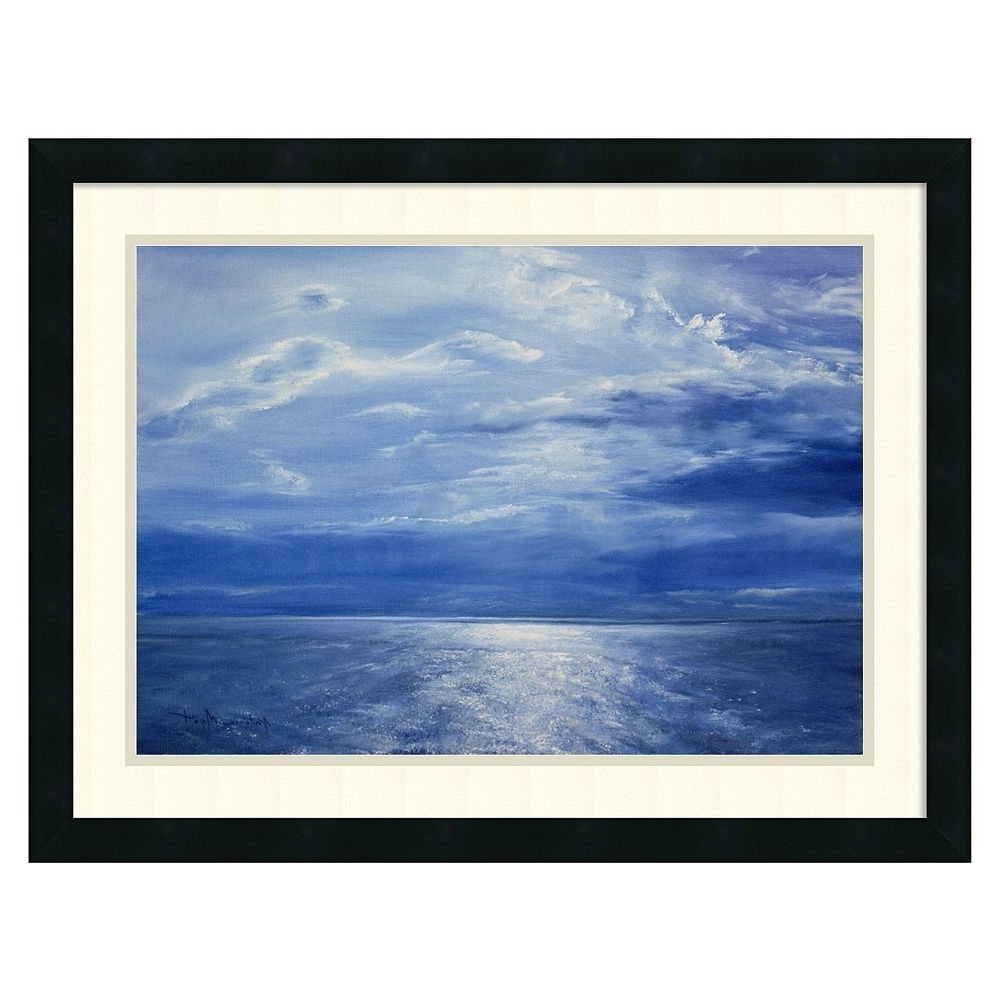 Deep Blue Sea, Deep Blue And Framed (Gallery 8 of 15)