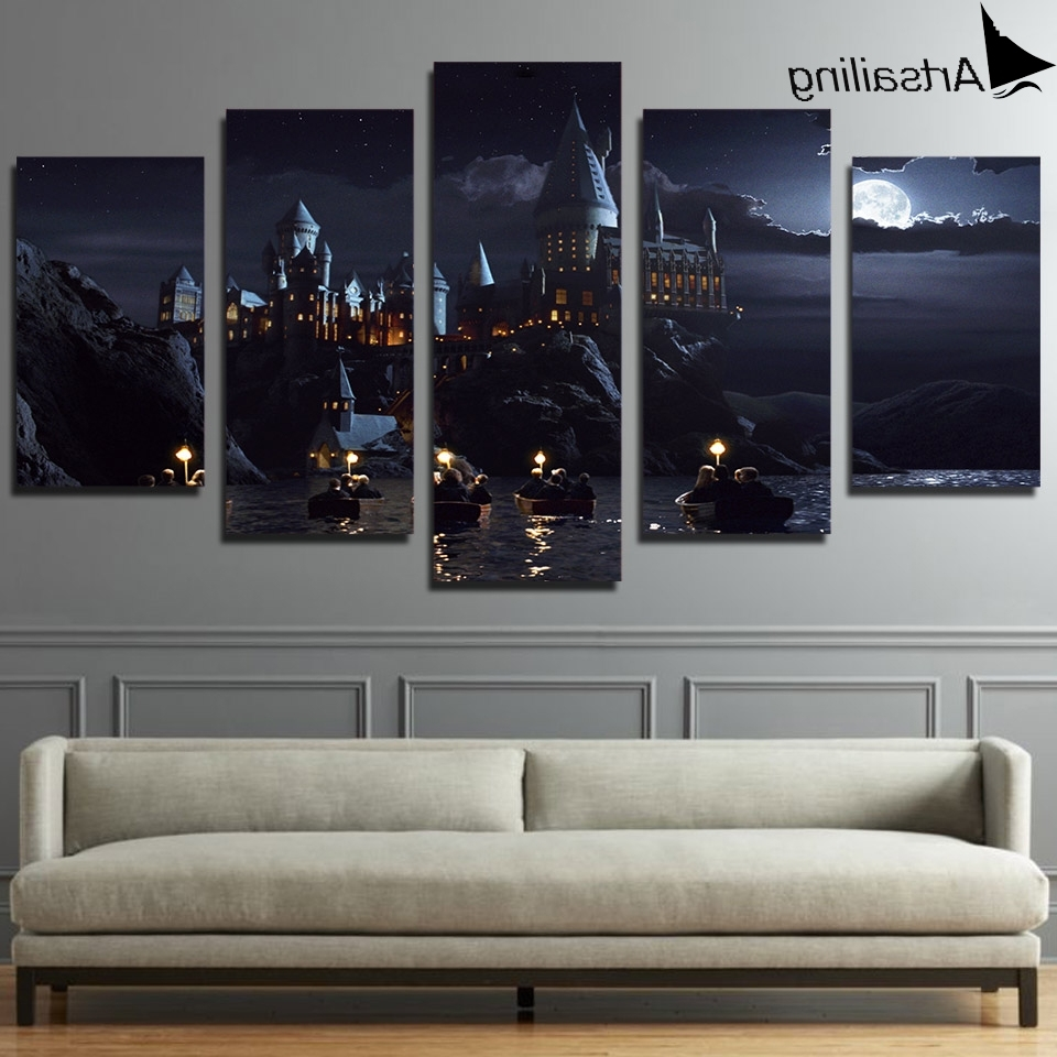 Designs : 5 Piece Framed Canvas Wall Art With 5 Piece Canvas Wall For Preferred Kohls 5 Piece Canvas Wall Art (Gallery 5 of 15)
