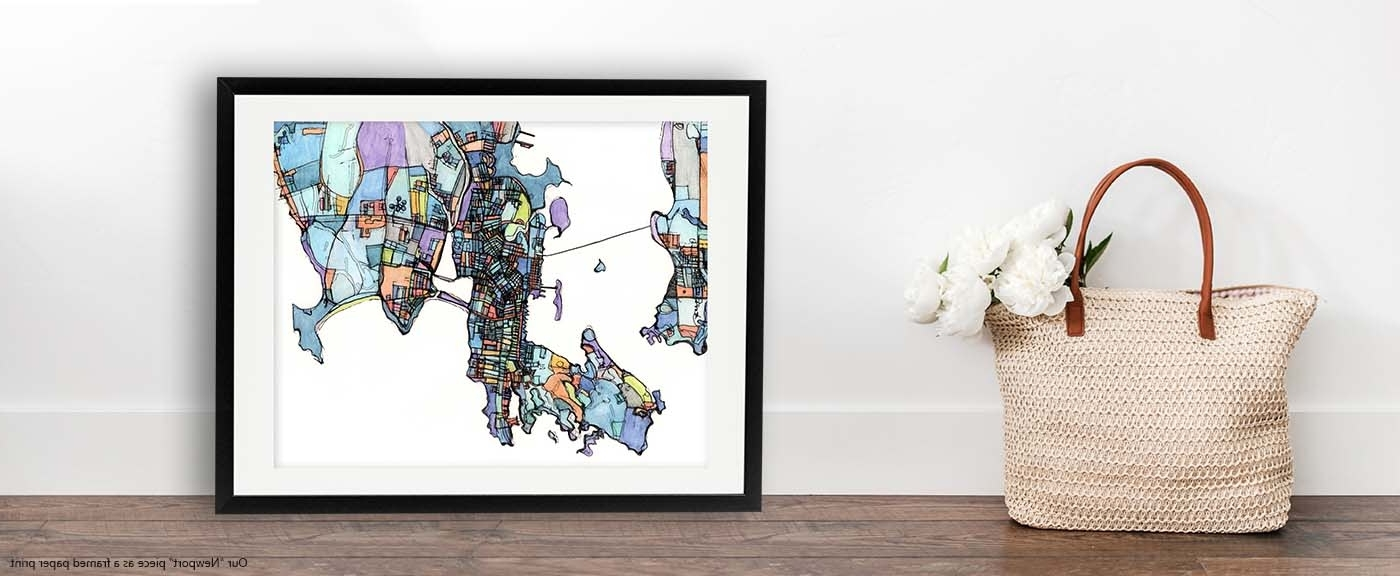 Digitally Merged Illustrations And In Widely Used Contemporary Framed Art Prints (View 8 of 15)