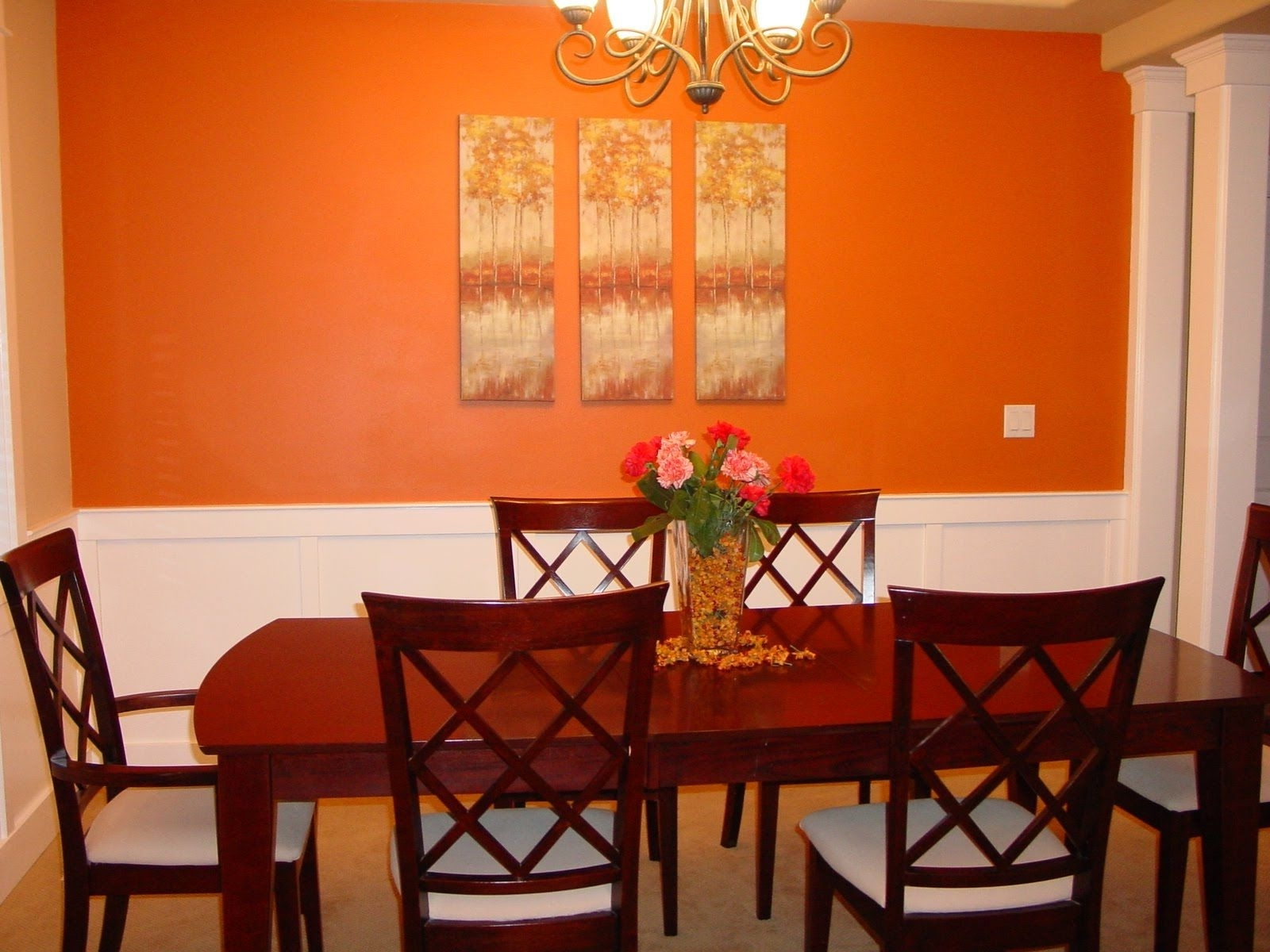 Dining Room Paint Ideas With Accent Wall Odqeaih New Home Rule With Most Up To Date Dining Room Wall Accents (Gallery 15 of 15)