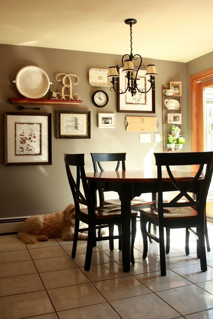 Dining Room Wall Accents Throughout Trendy Cool Kitchen Decorating Ideas Have Ffbeaca Dining Room Wall Decor (View 8 of 15)
