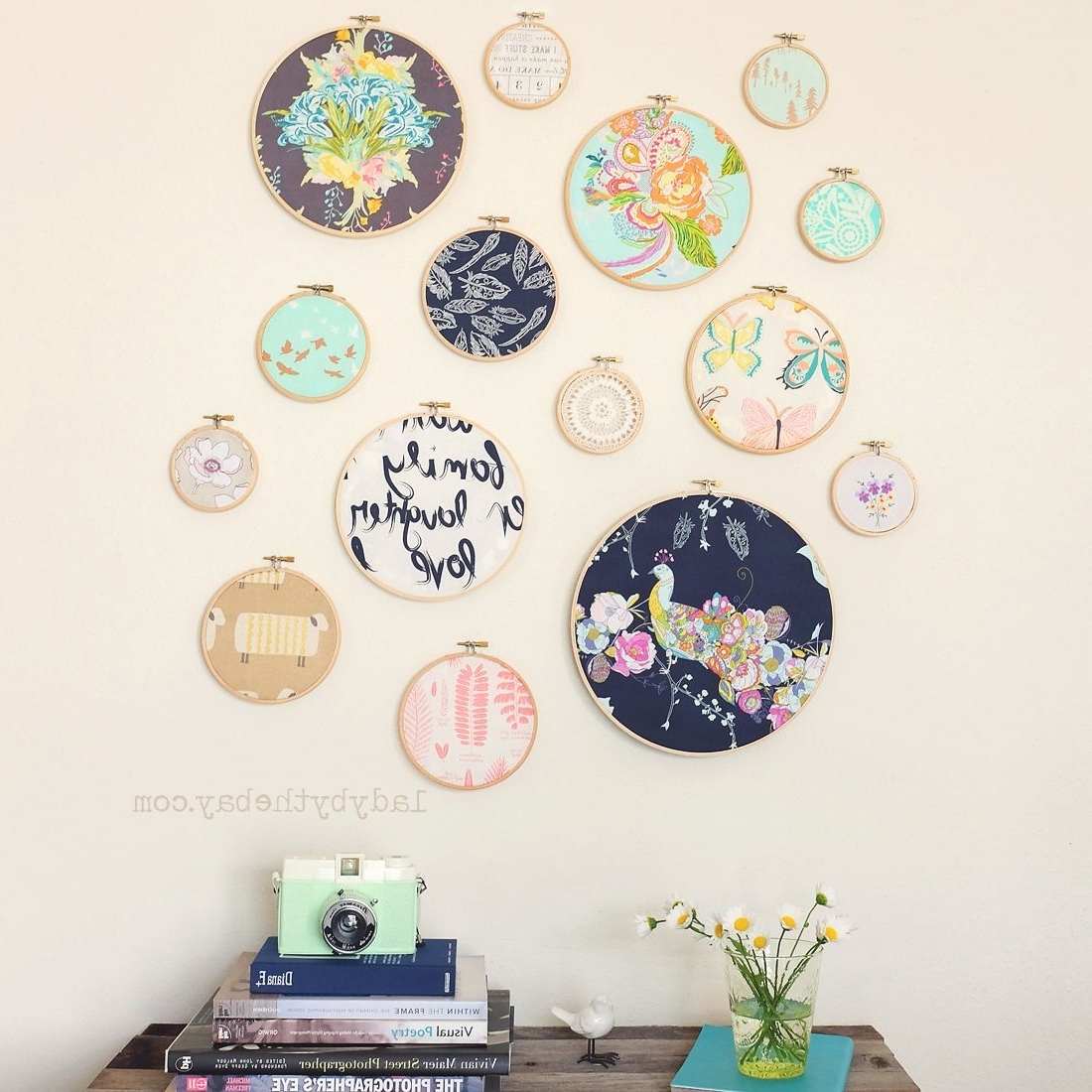 Diy Embroidery, Embroidery And Walls (View 4 of 15)