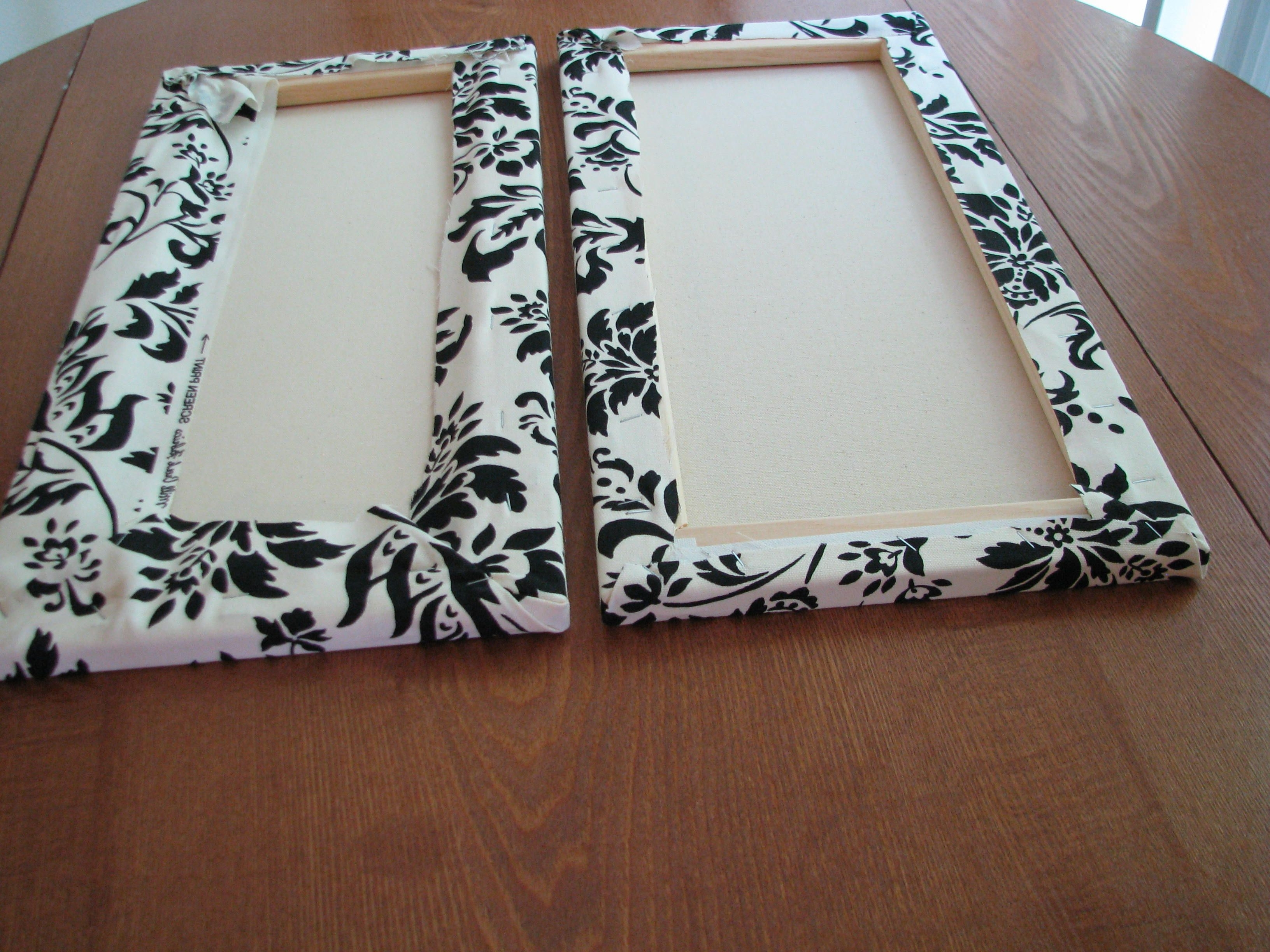 Diy Fabric Canvas Wall Art Within Most Popular Make Your Own Canvas Wall Hangings (View 2 of 15)