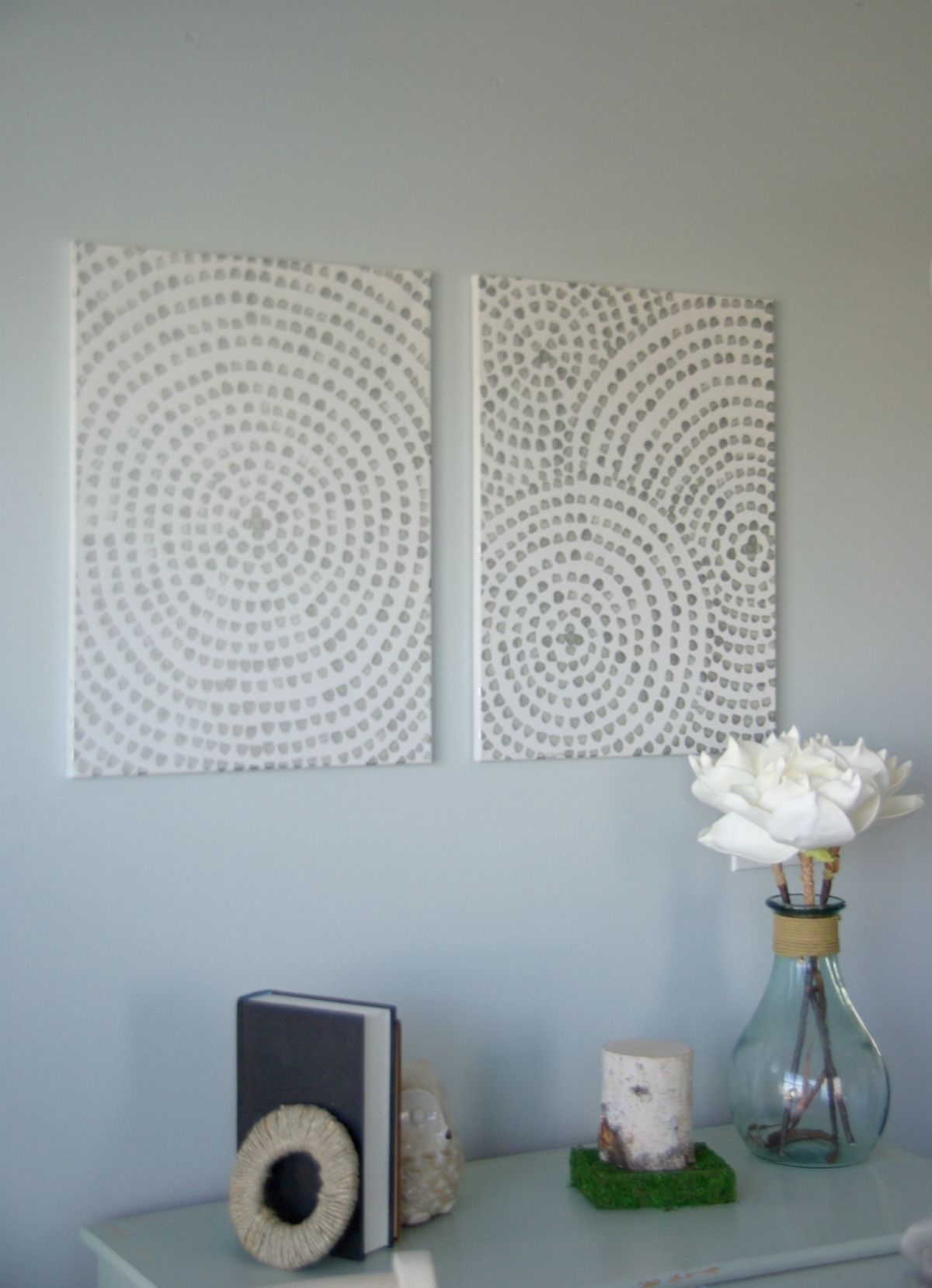 Diy For Homemade Wall Art With Fabric (View 3 of 15)