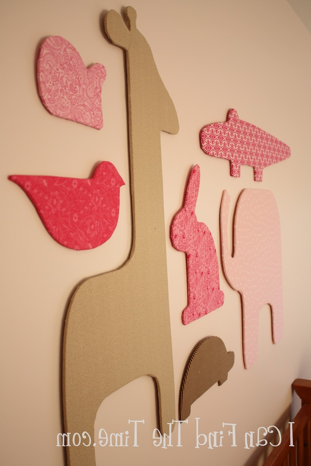Easy Fabric Silhouette Wall Art Within Widely Used Foam Board Fabric Wall Art (View 3 of 15)