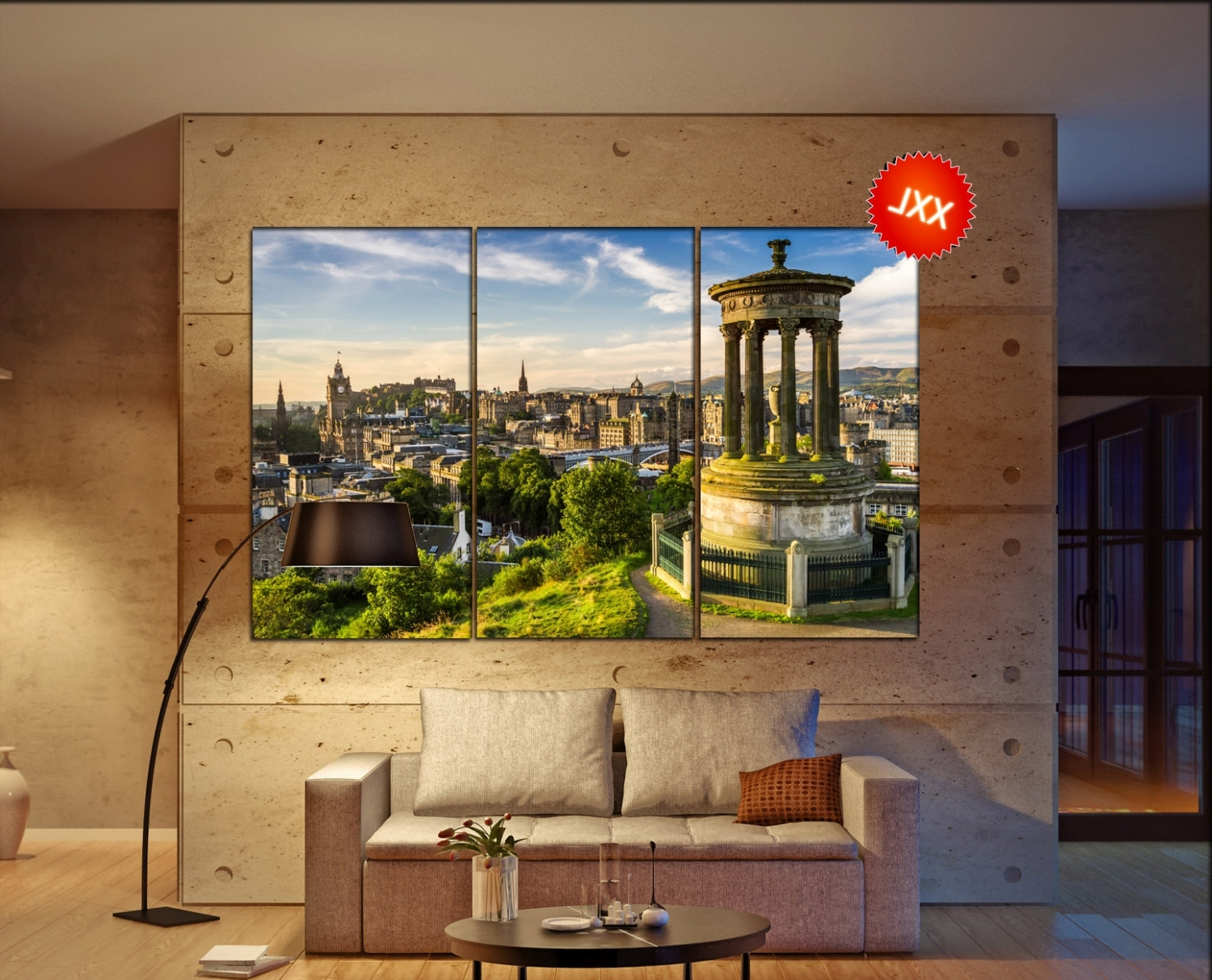 Edinburgh Canvas Prints Wall Art Regarding Well Liked Edinburgh Canvas Wall Art Edinburgh Wall Decoration Edinburgh (View 6 of 15)