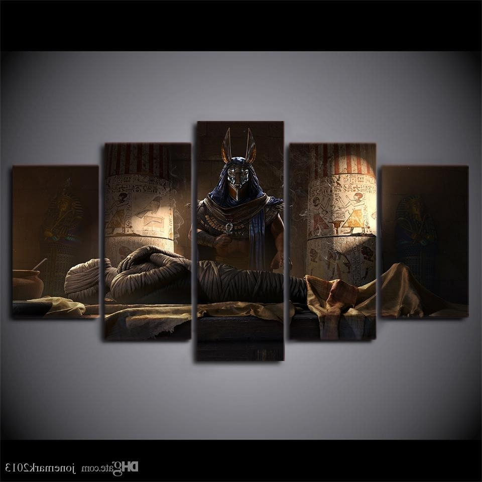 Egyptian Canvas Wall Art Within Most Recently Released 2018 Egypt Mummy Movie Home Decor Wall Art Canvas Pictures For (View 9 of 15)