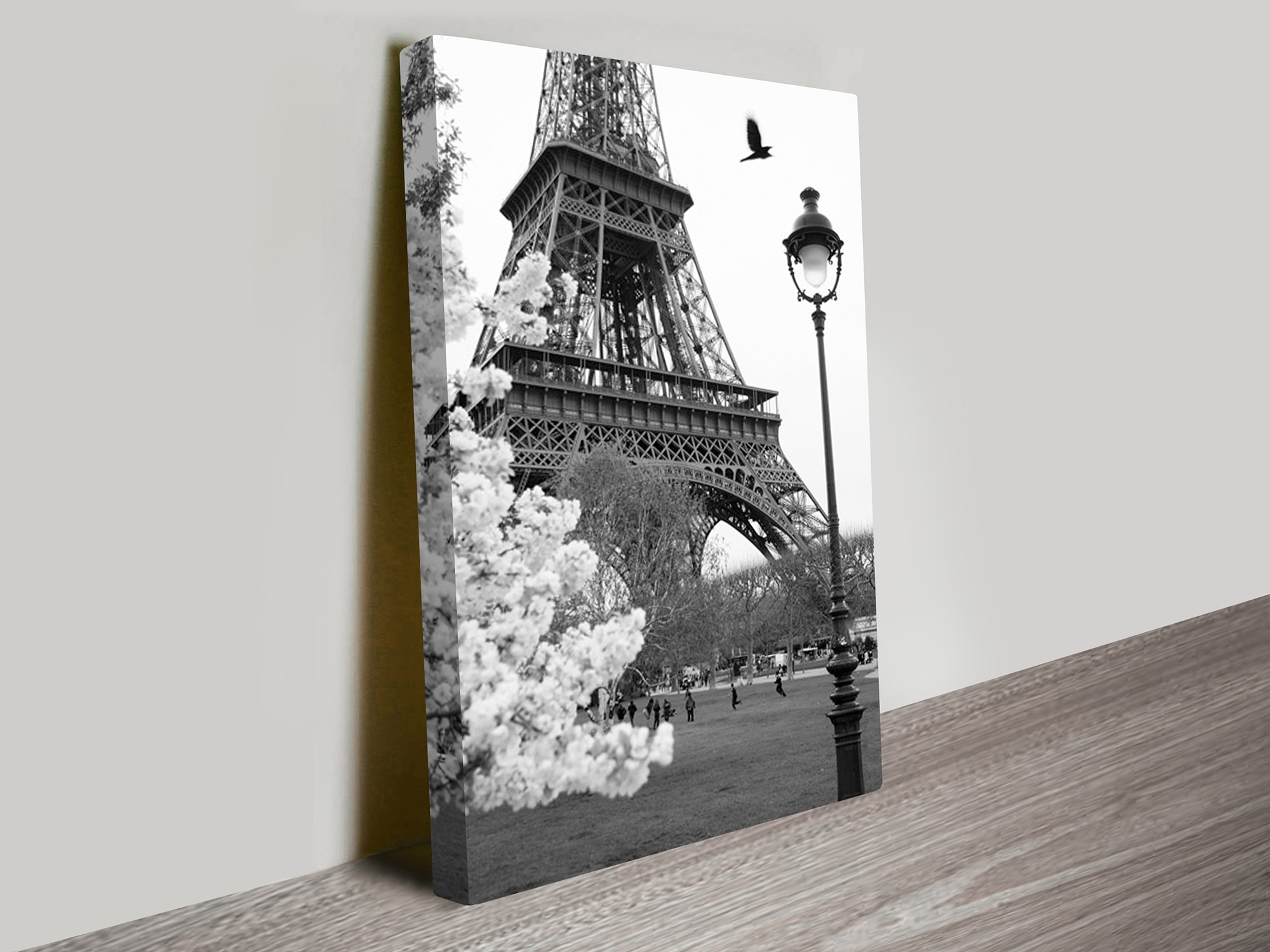 Eiffel Tower Portrait Canvas Artwork Within Preferred Photography Canvas Wall Art (Gallery 1 of 15)