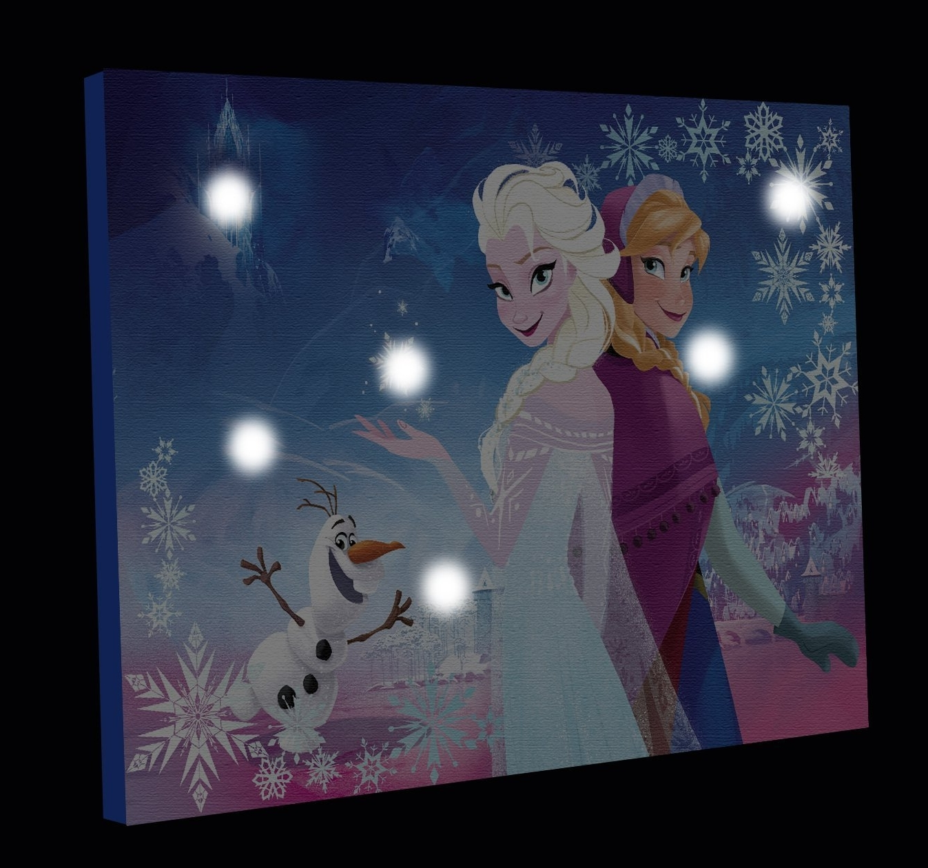 Elsa Canvas Wall Art With Regard To Most Popular Amazon: Disney Frozen Canvas Led Wall Art: Toys & Games (Gallery 12 of 15)