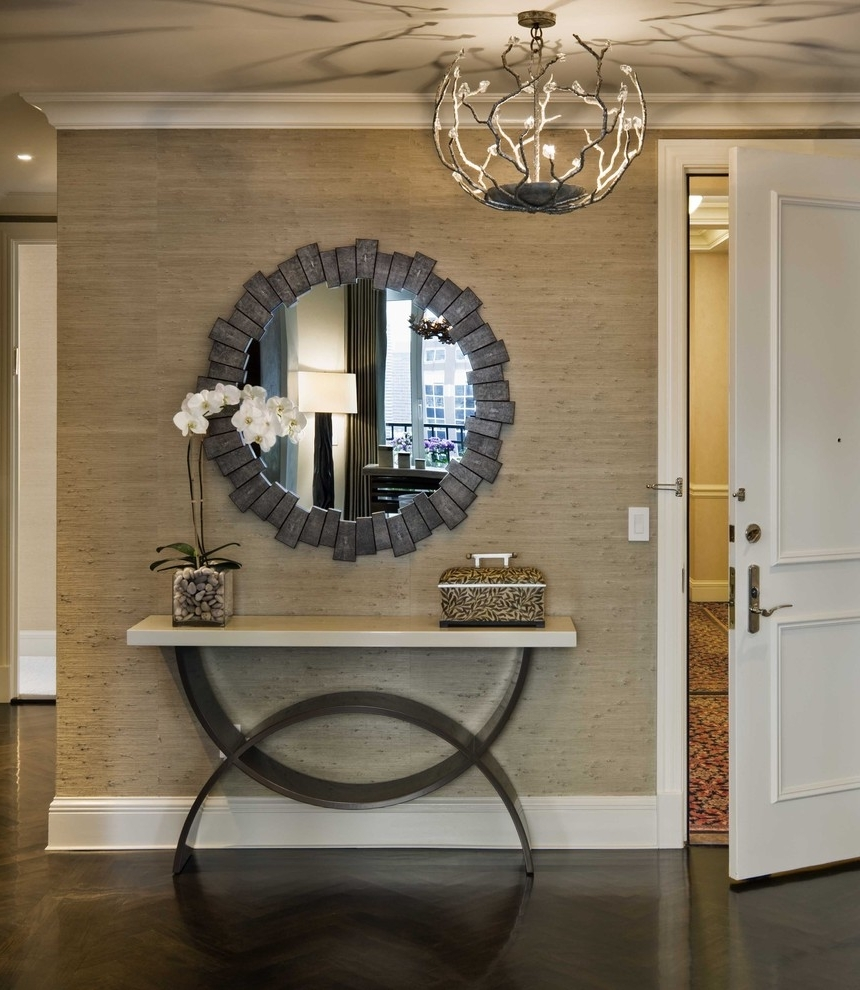 Entrance Wall Accents Within Most Popular Interior (View 5 of 15)