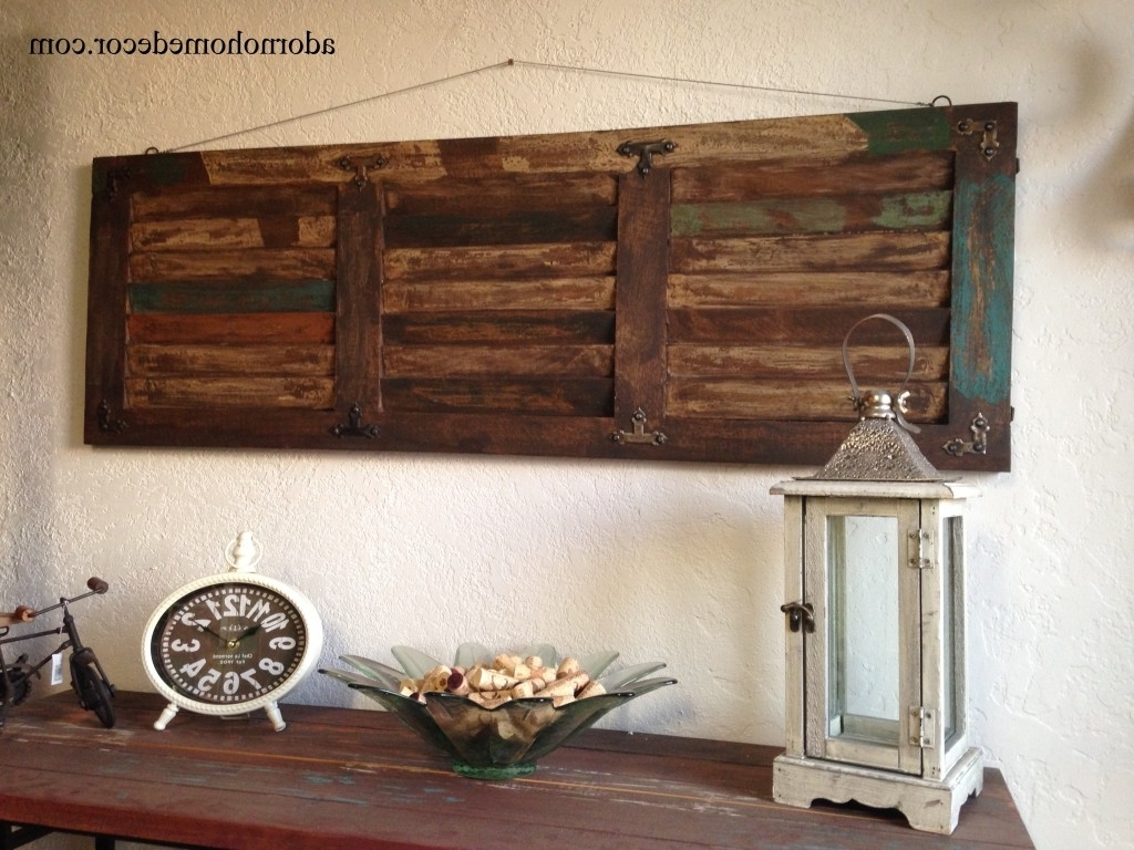 Etsy Wall Accents With Popular Ingenious Rustic Wood Wall Decor Etsy – Interior & Lighting Design (Gallery 8 of 15)