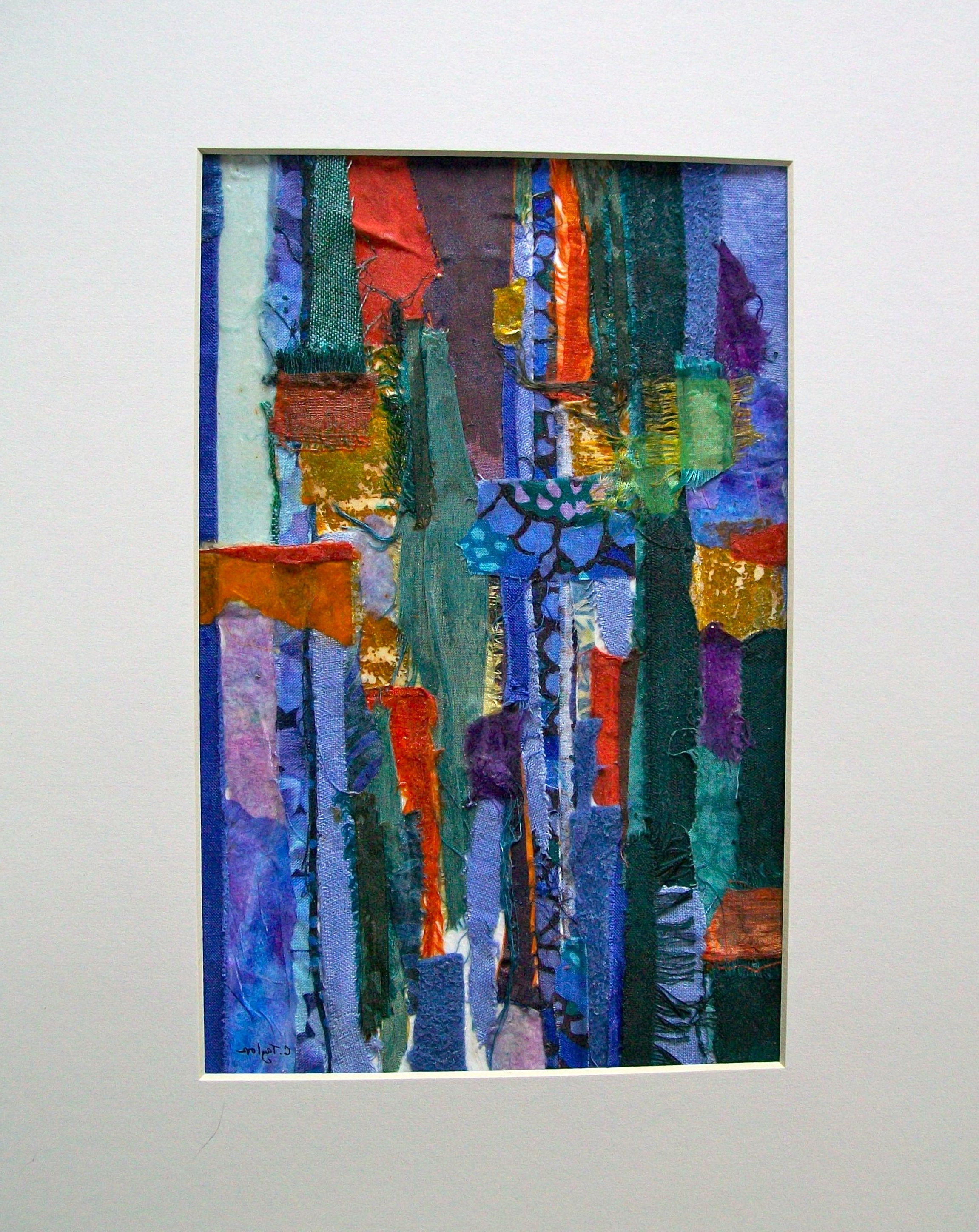 Fabric Collage (View 4 of 15)