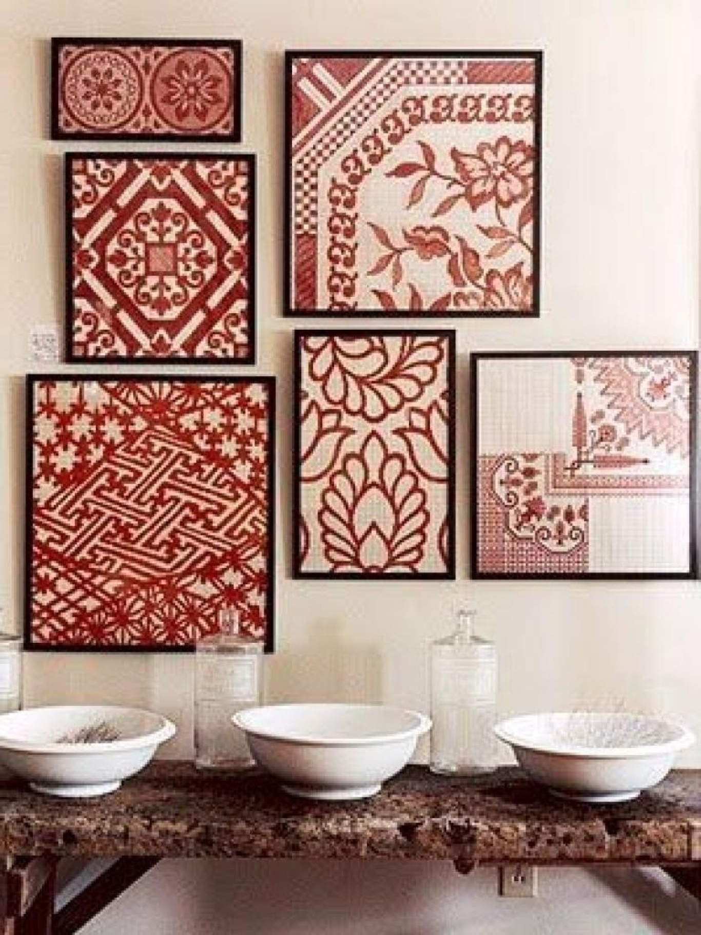 Fabric Covered Frames Wall Art With Regard To Well Known Fabric Wall Art (View 10 of 15)