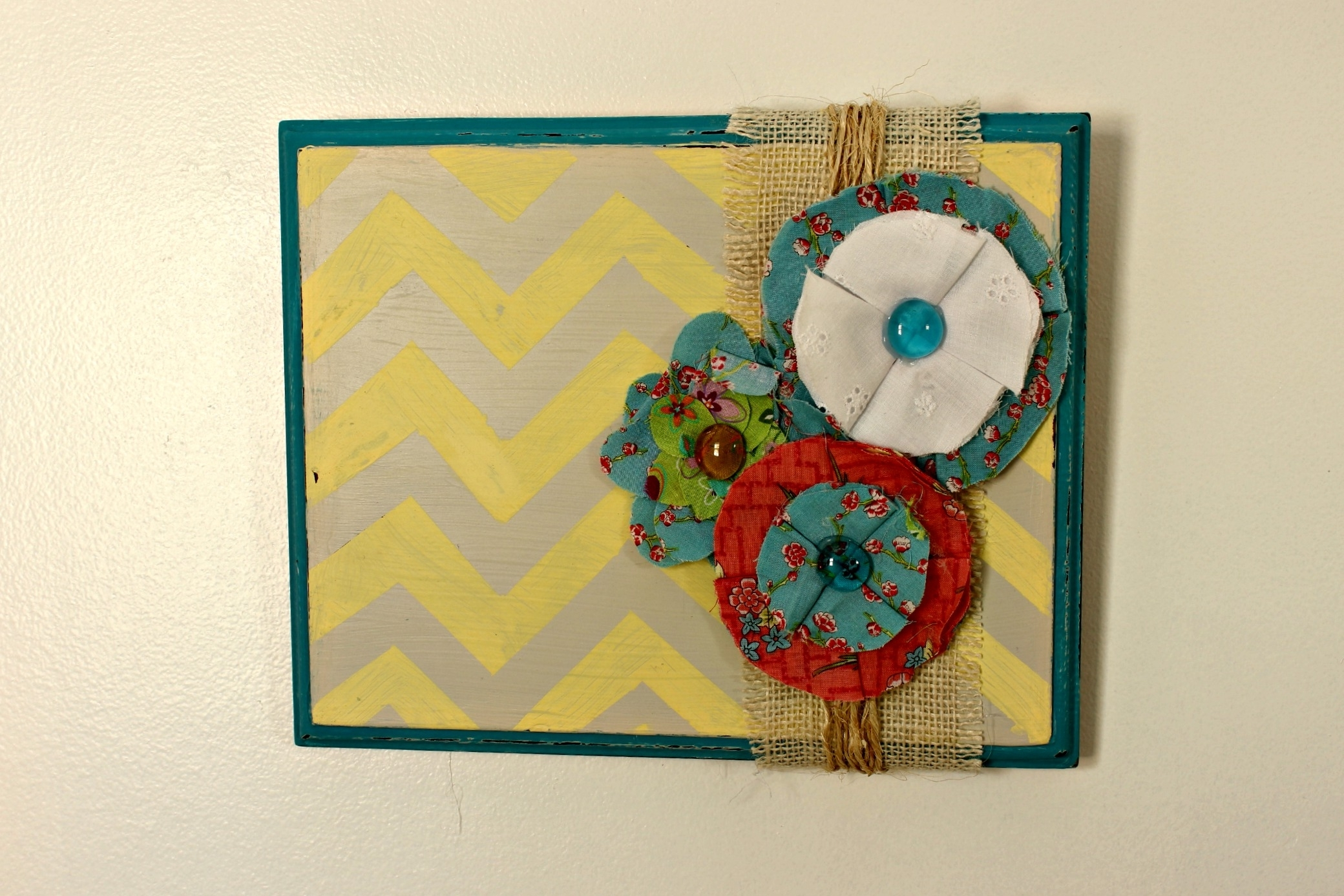 Photos of Fabric Flower Wall Art (Showing 6 of 15 Photos)