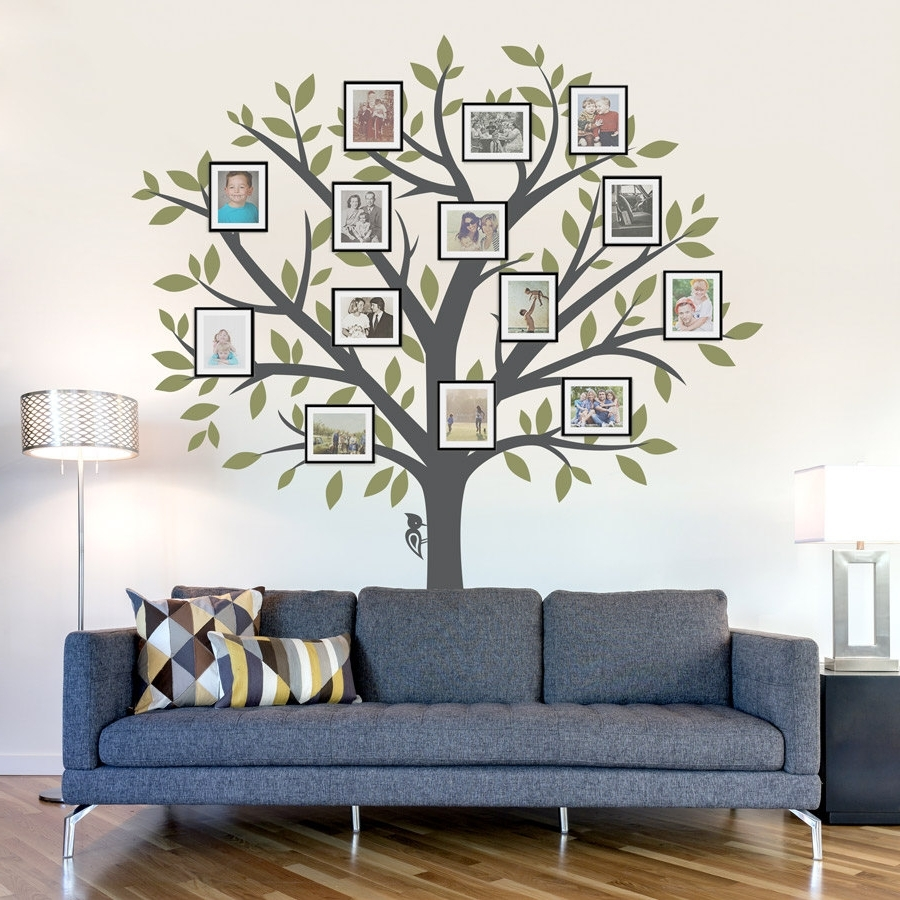 Fabric Tree Wall Art For Recent Decorating. Tree Wall Decals Design Inspiration (View 12 of 15)