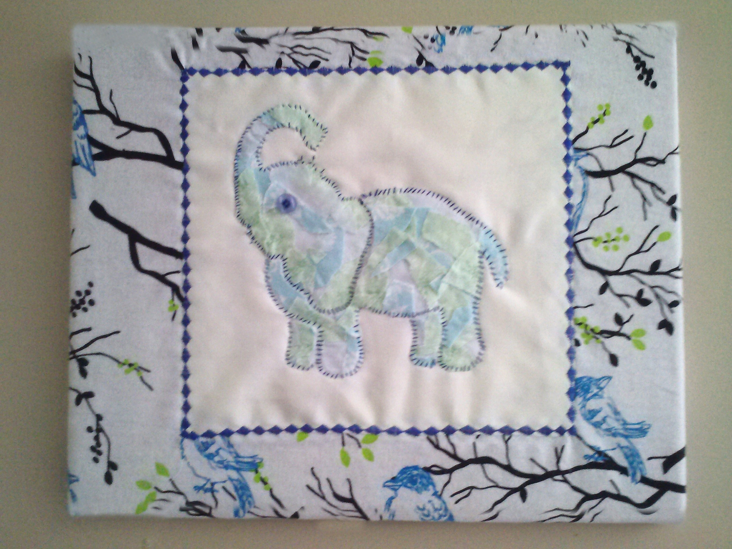 Fabric Wall Art For Nursery Regarding Favorite Diy Wall Art For Nursery: Fabric Covered Canvas (View 2 of 15)