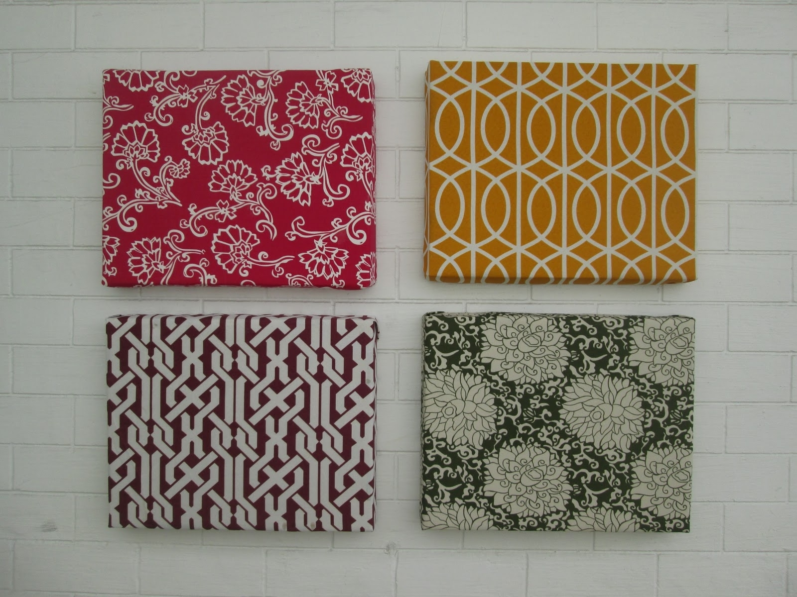 Fabric Wall Decoration – Gooosen Intended For Trendy Simple Fabric Wall Art (View 5 of 15)