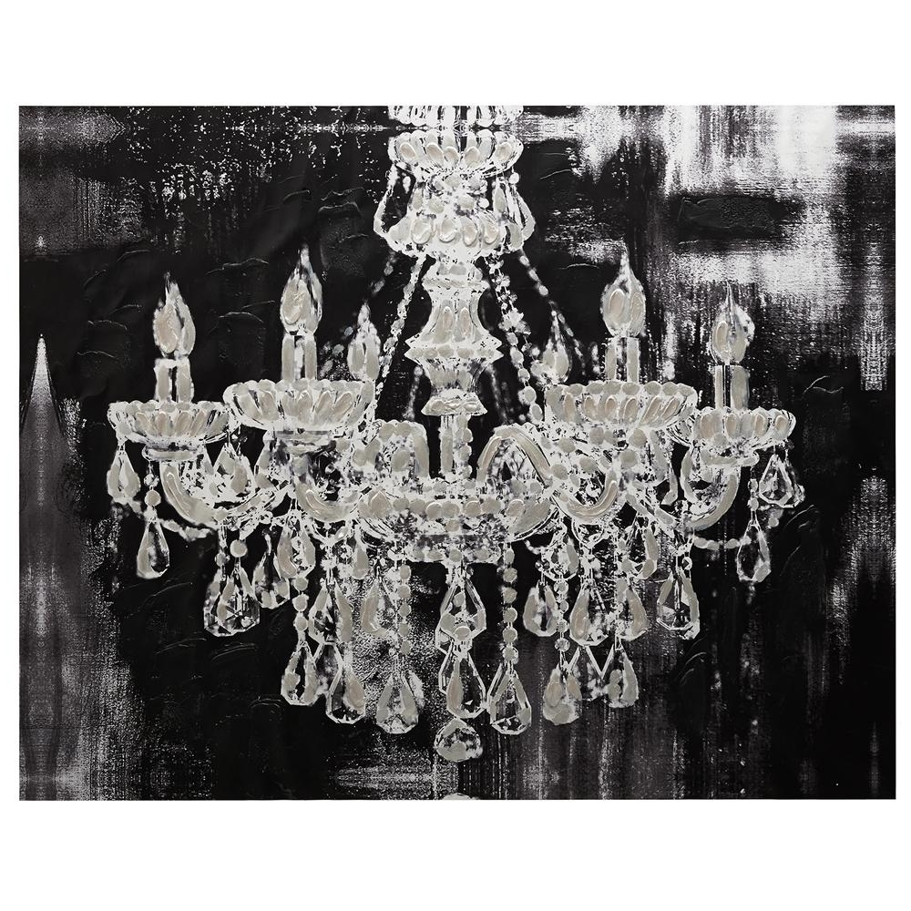 Famous $129 Canvas – Chandelier/canvas Art/wall Decor (View 6 of 15)