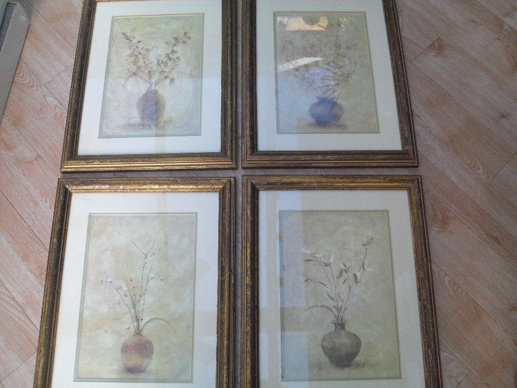 "Famous 4 Framed Prints Entitled ""fruit & Flower Blossomscheri Blum Inside Cheri Blum Framed Art Prints (View 9 of 15)"