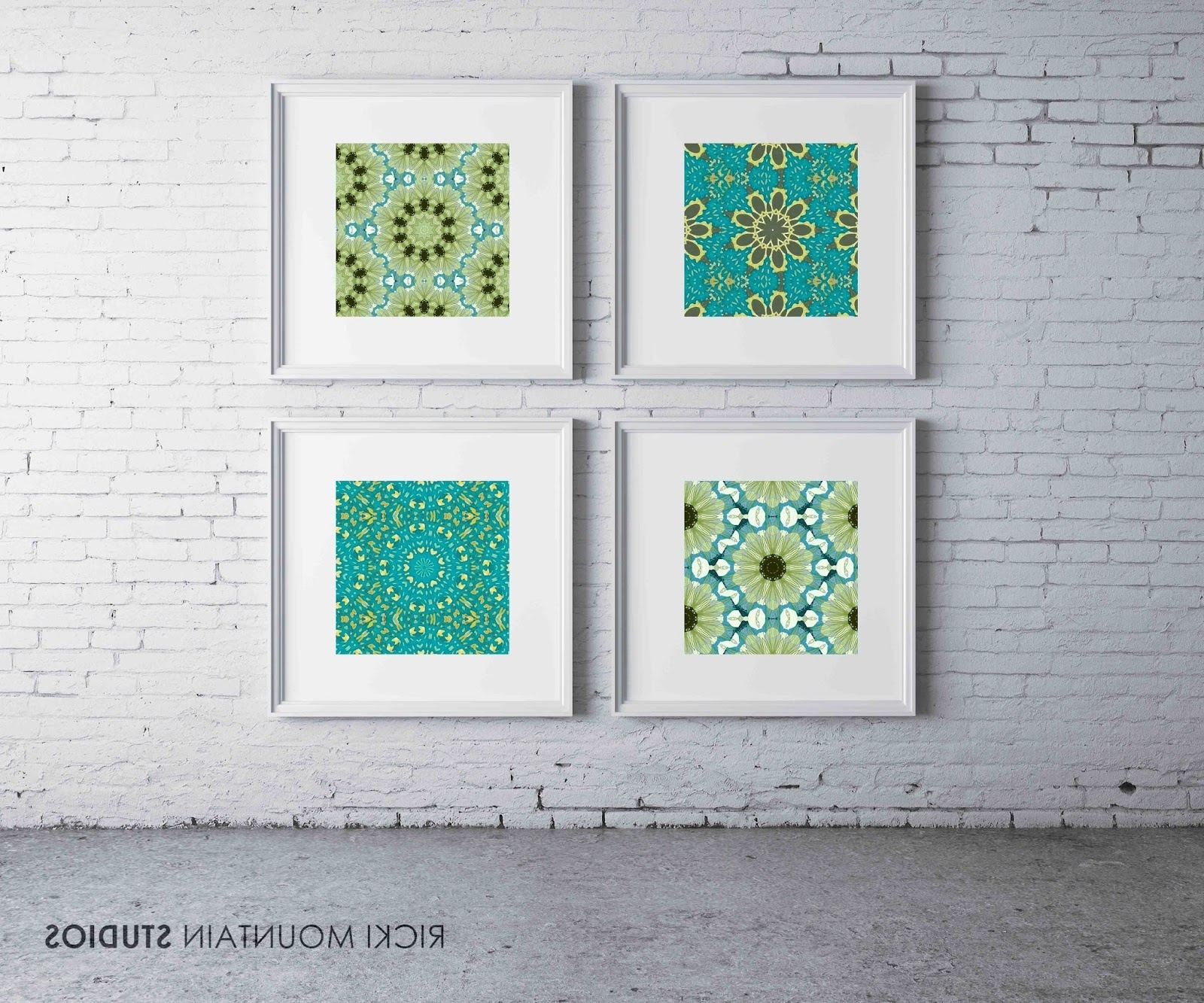 Famous A Love Of Symmetry, Pattern And Color Regarding Framed Art Prints Sets (View 3 of 15)
