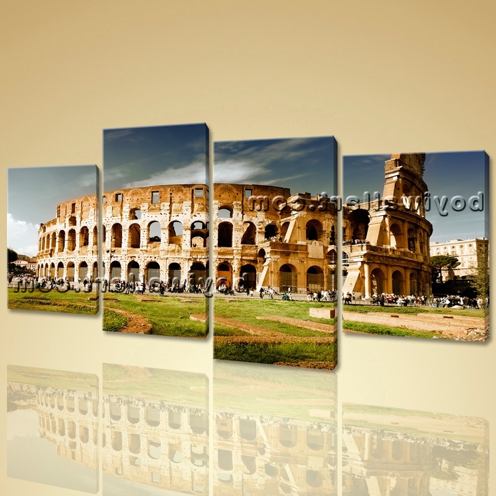 Image Gallery of Canvas Wall Art Of Rome (View 3 of 15 Photos)