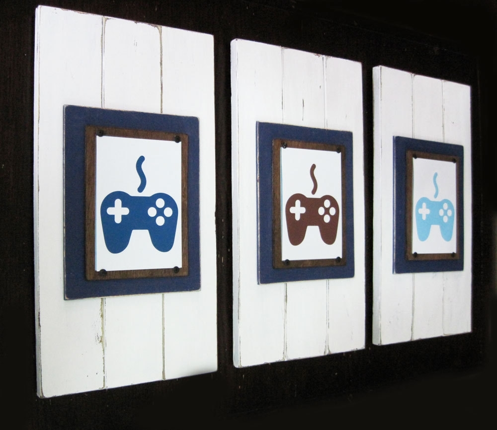 Famous Framed Art Prints Pertaining To Video Game Art Print (View 3 of 15)